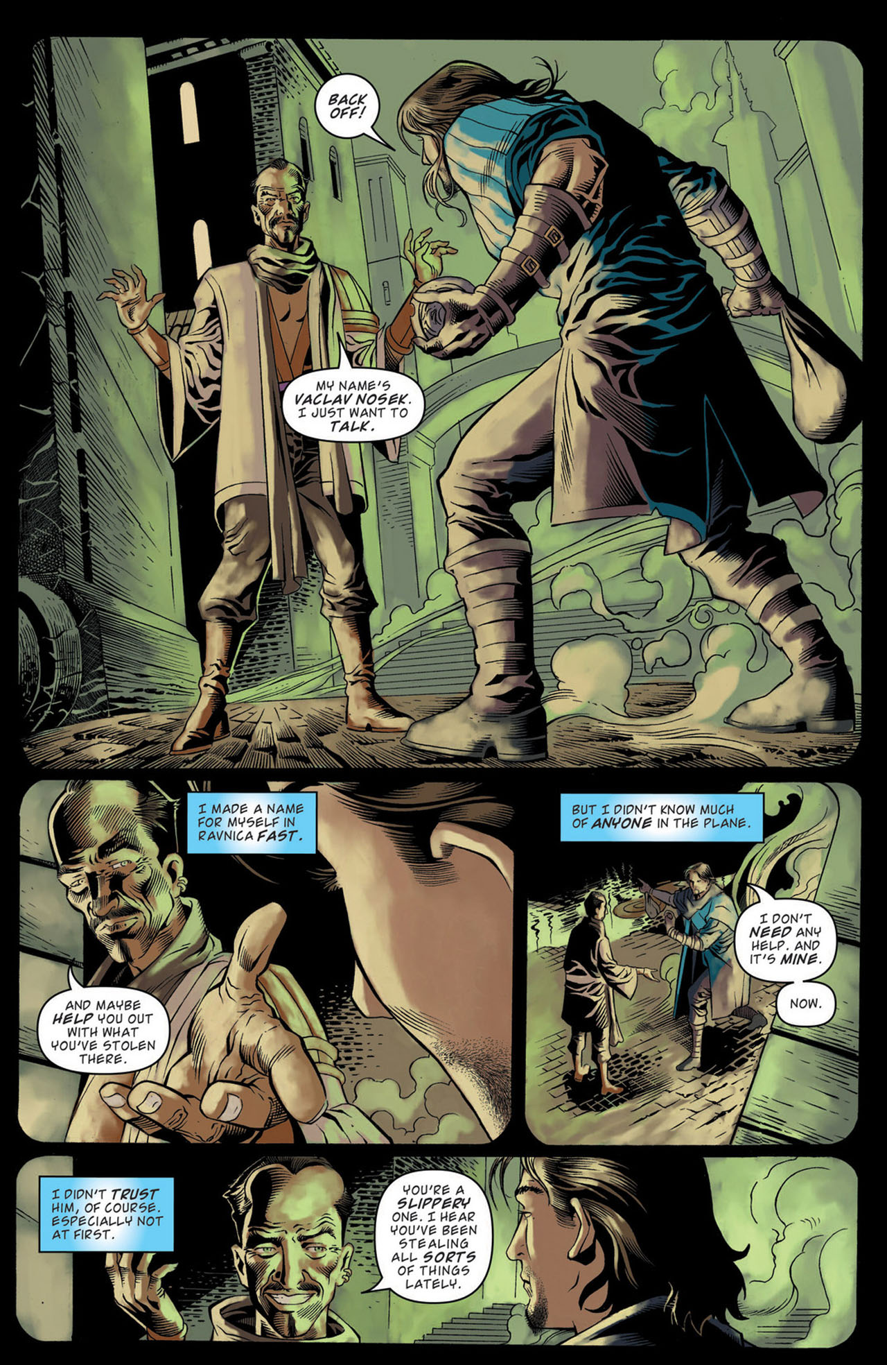 Read online Magic: The Gathering--Path of Vengeance comic -  Issue #1 - 16