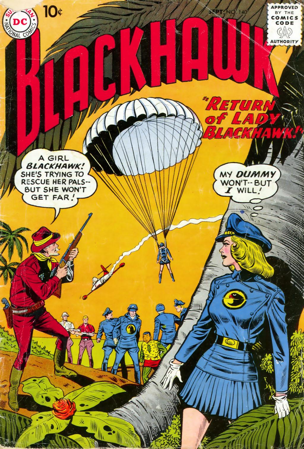 Blackhawk (1957) 140 Page 1