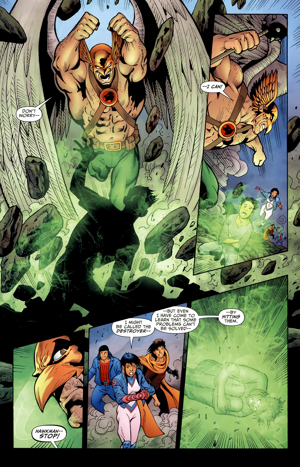 Read online Justice League of America/The 99 comic -  Issue #4 - 12