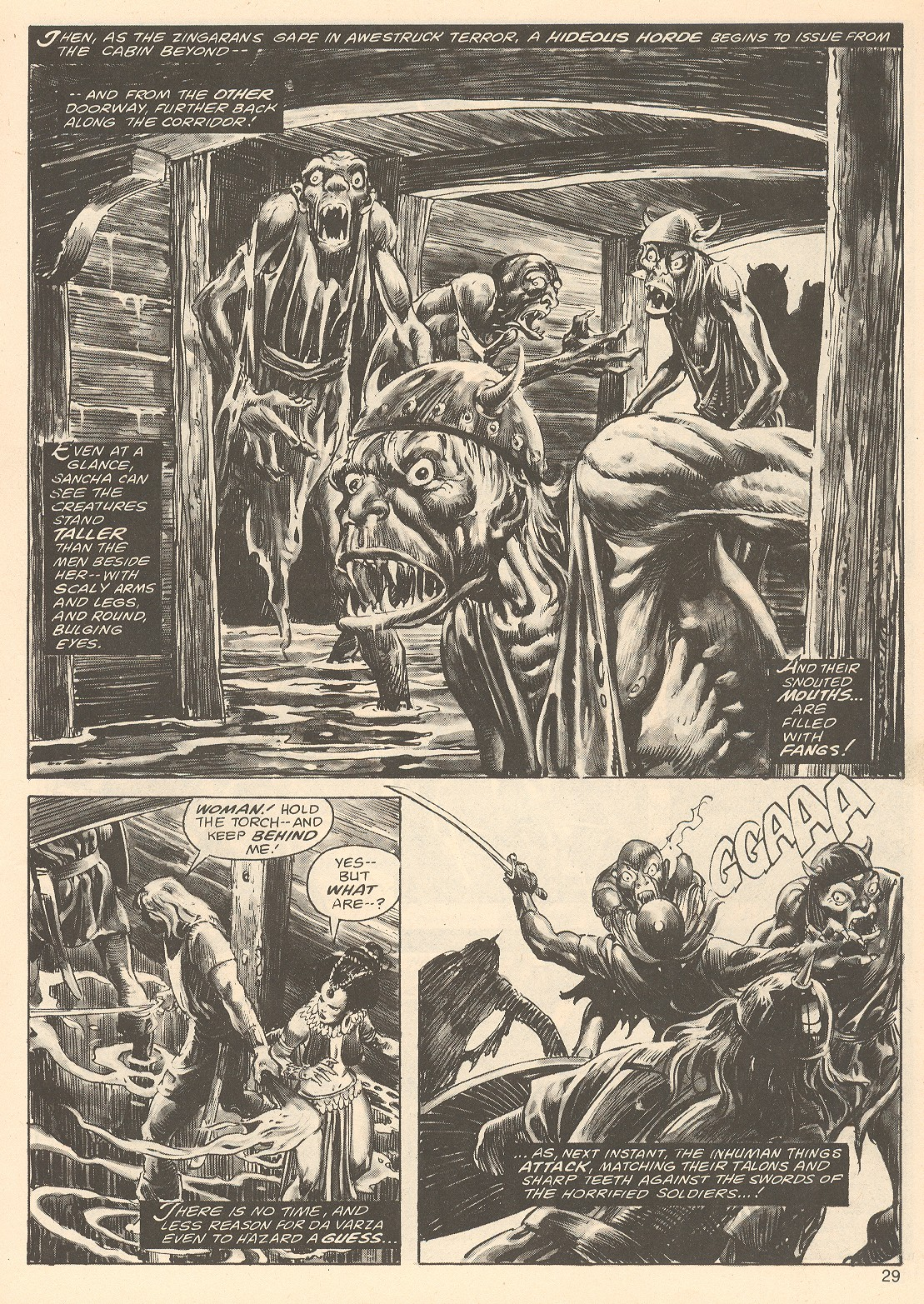The Savage Sword Of Conan Issue #67 #68 - English 29