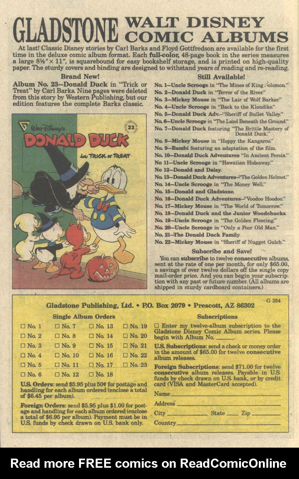 Uncle Scrooge (1953) Issue #241 #241 - English 10