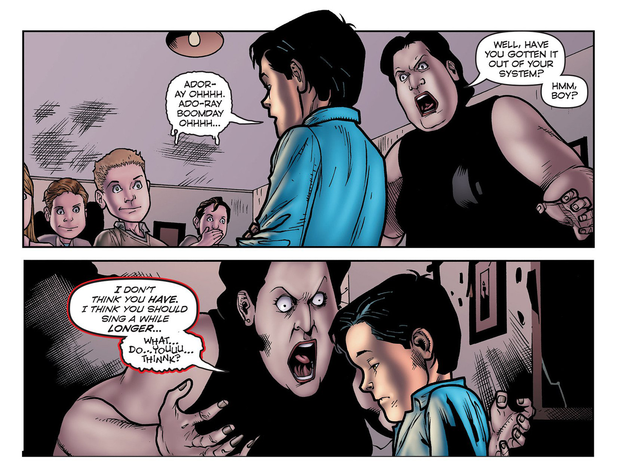 Read online Evil Dead 2: Cradle of the Damned comic -  Issue #6 - 12