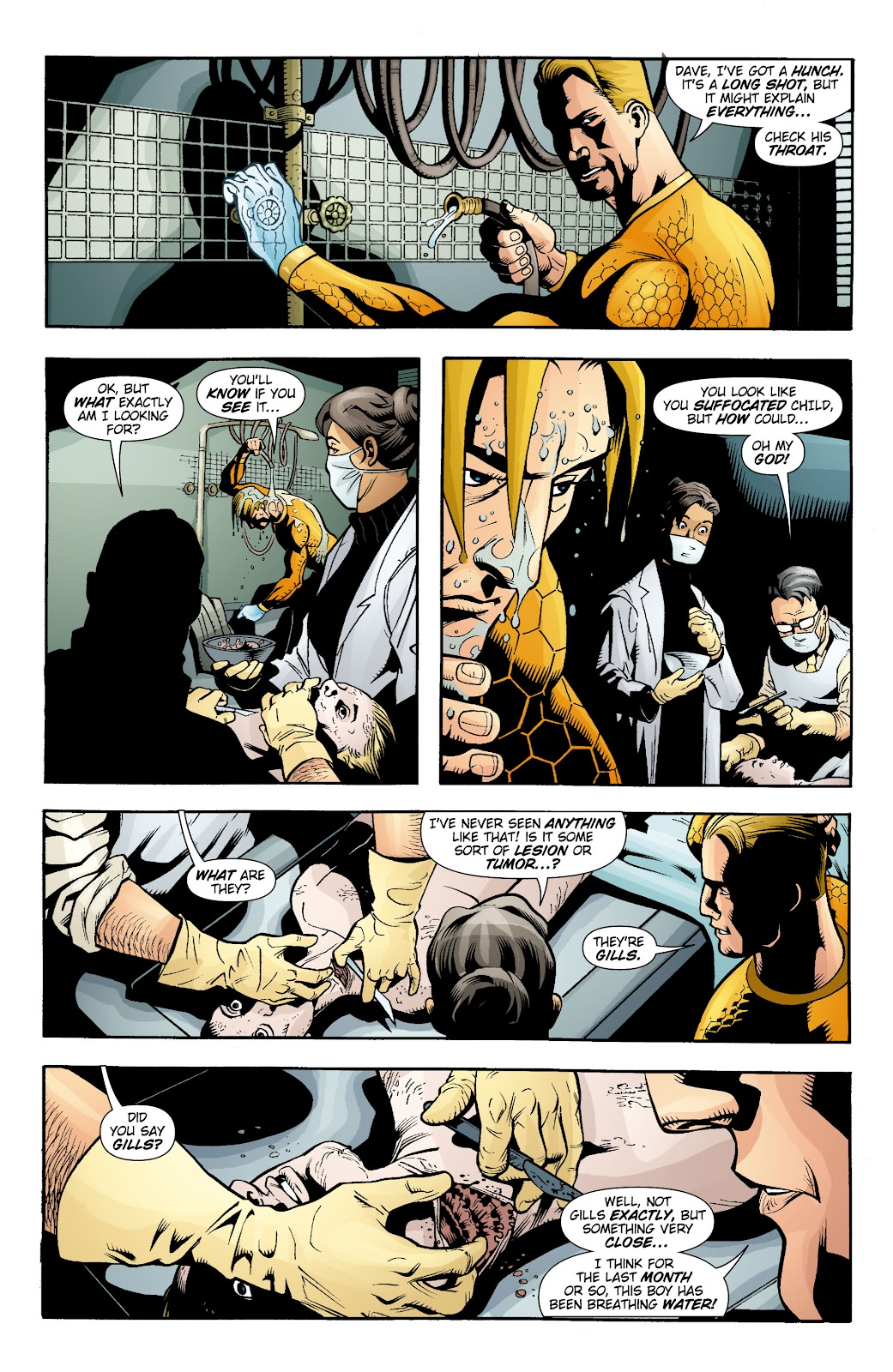 Aquaman (2003) Issue #15 #15 - English 21