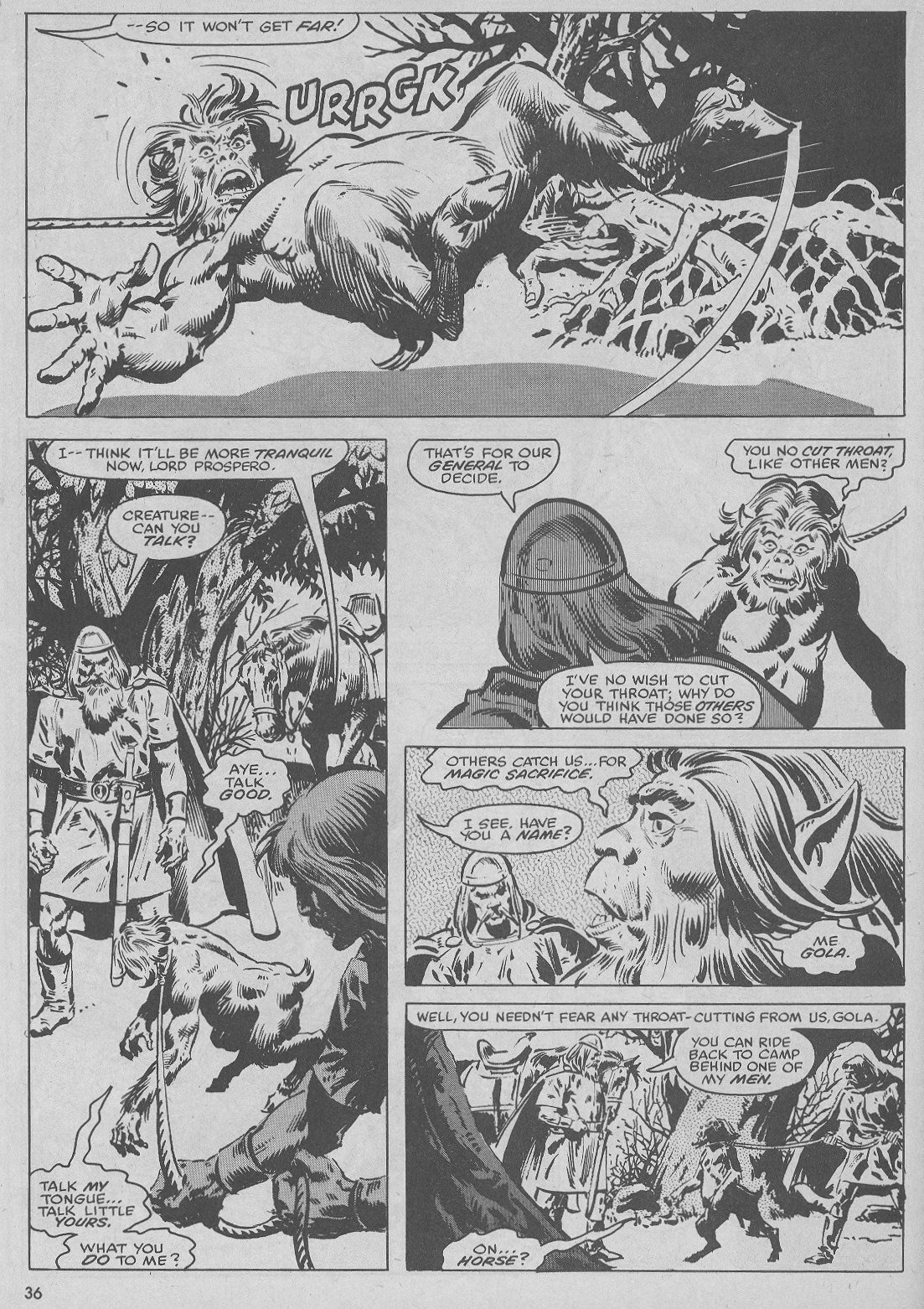 The Savage Sword Of Conan Issue #51 #52 - English 36