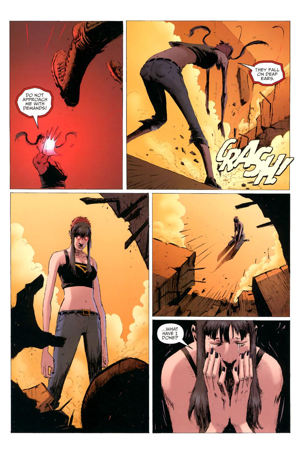 Strange Girl Issue #8 #9 - English 12