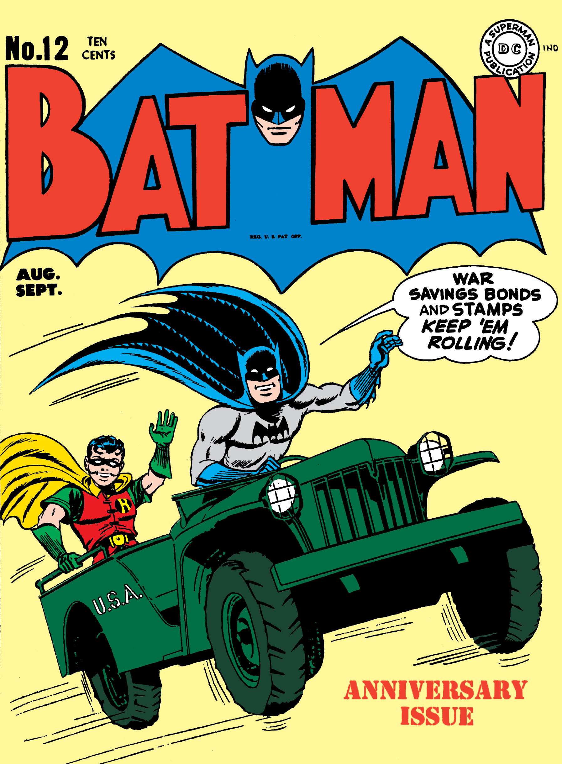 Batman (1940) 12 Page 1