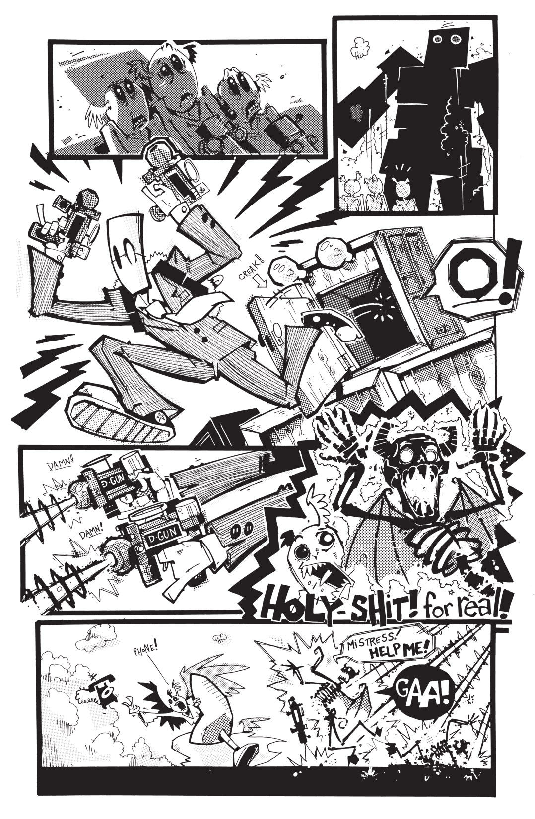 Read online Scud: The Disposable Assassin: The Whole Shebang comic -  Issue # TPB (Part 4) - 113