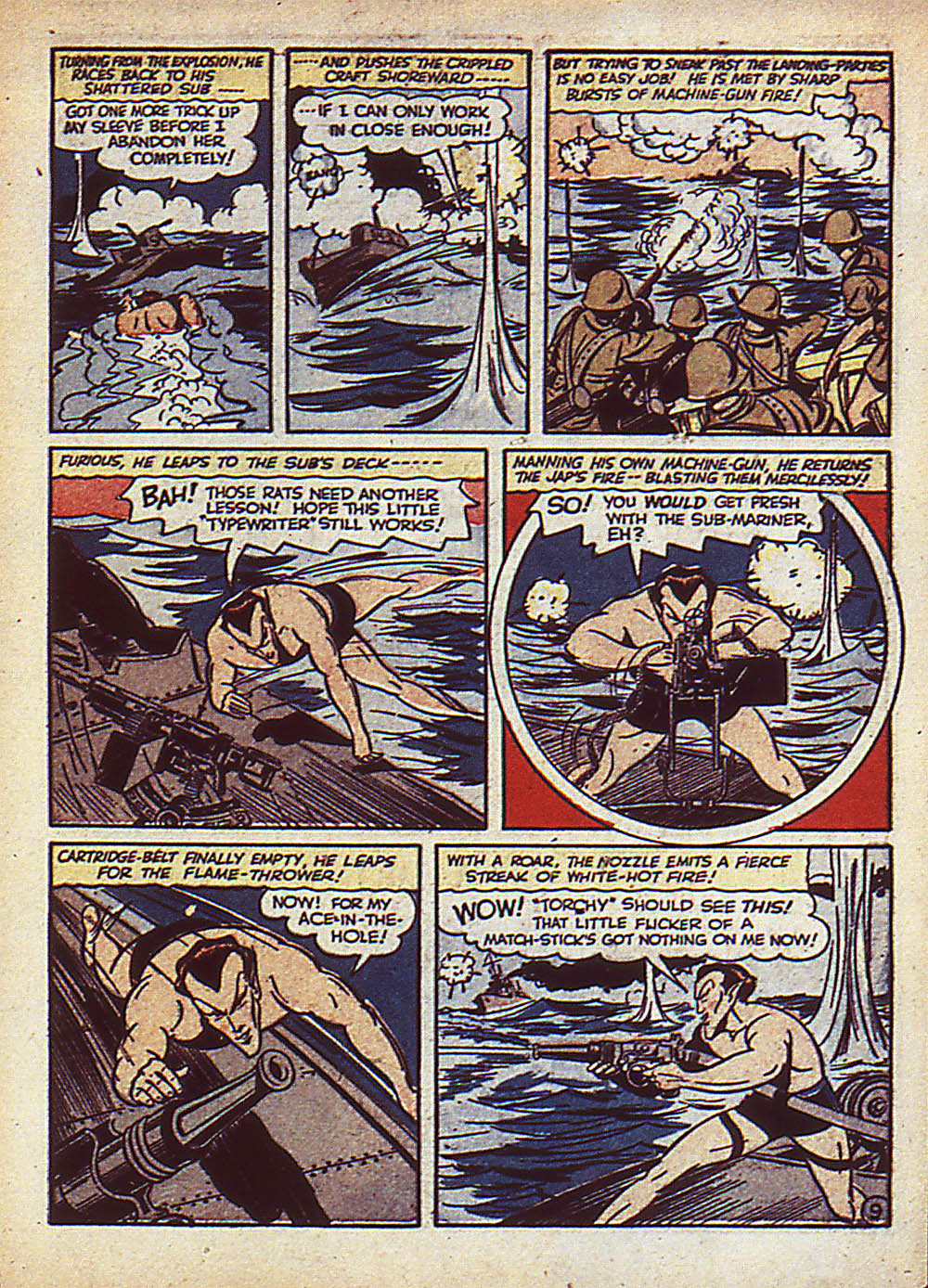 Sub-Mariner Comics Issue #5 #5 - English 12
