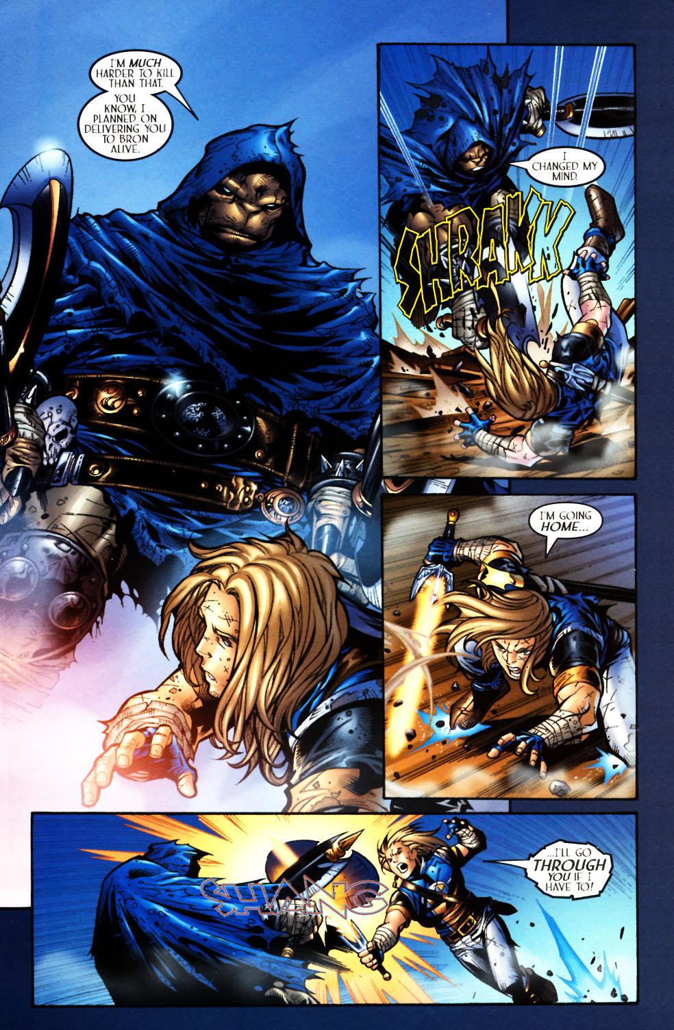Read online Scion comic -  Issue #4 - 18