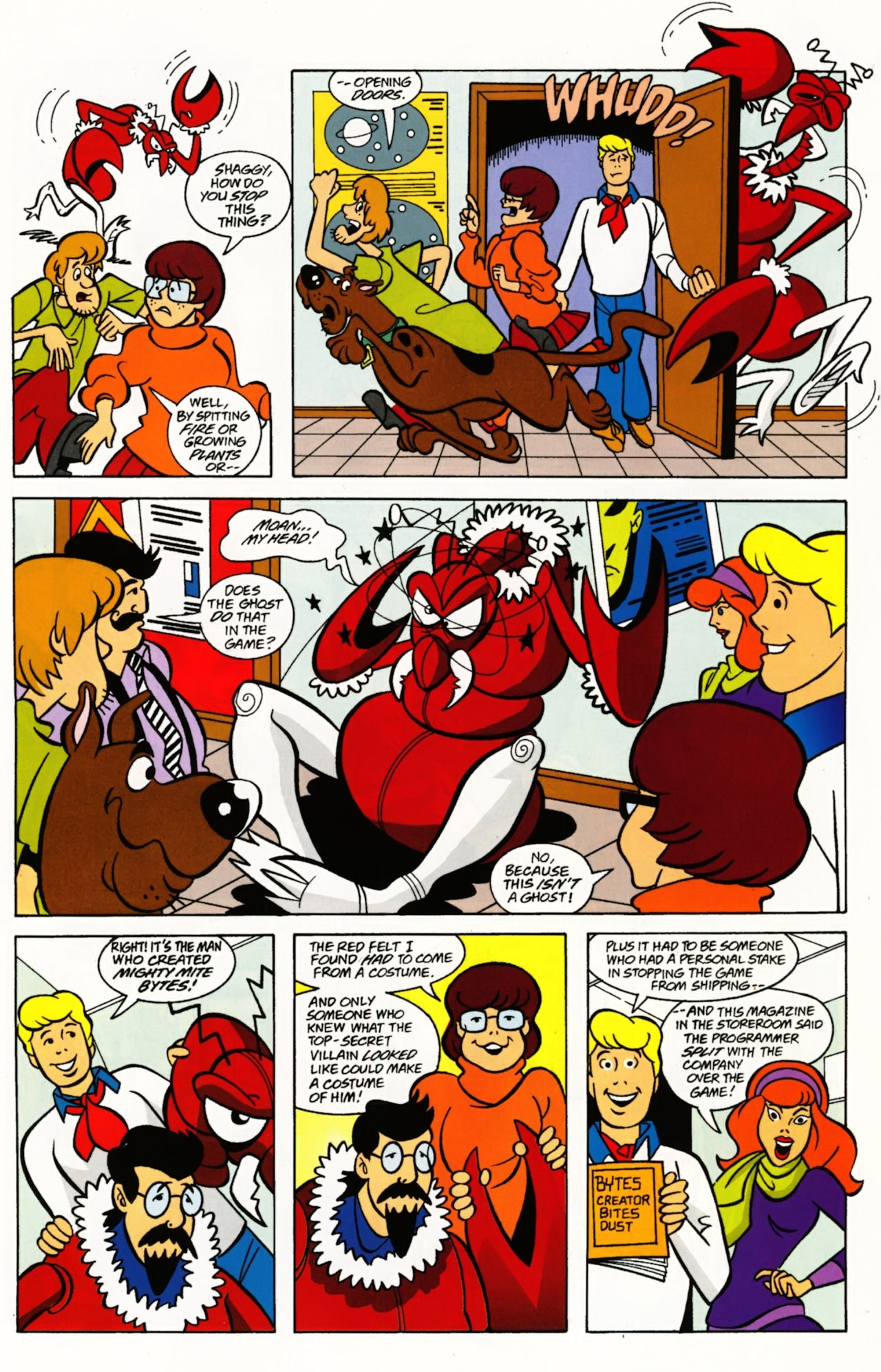 Read online Scooby-Doo: Where Are You? comic -  Issue #4 - 9