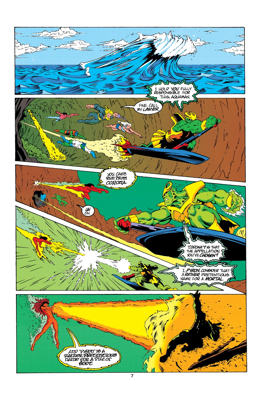 Aquaman (1994) Issue #8 #14 - English 8