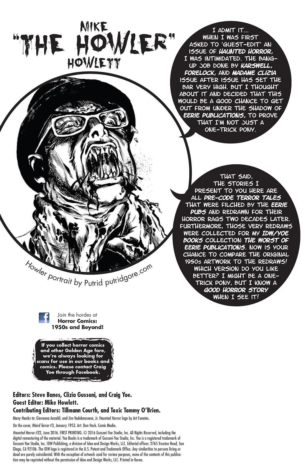 Haunted Horror Issue #22 #22 - English 2
