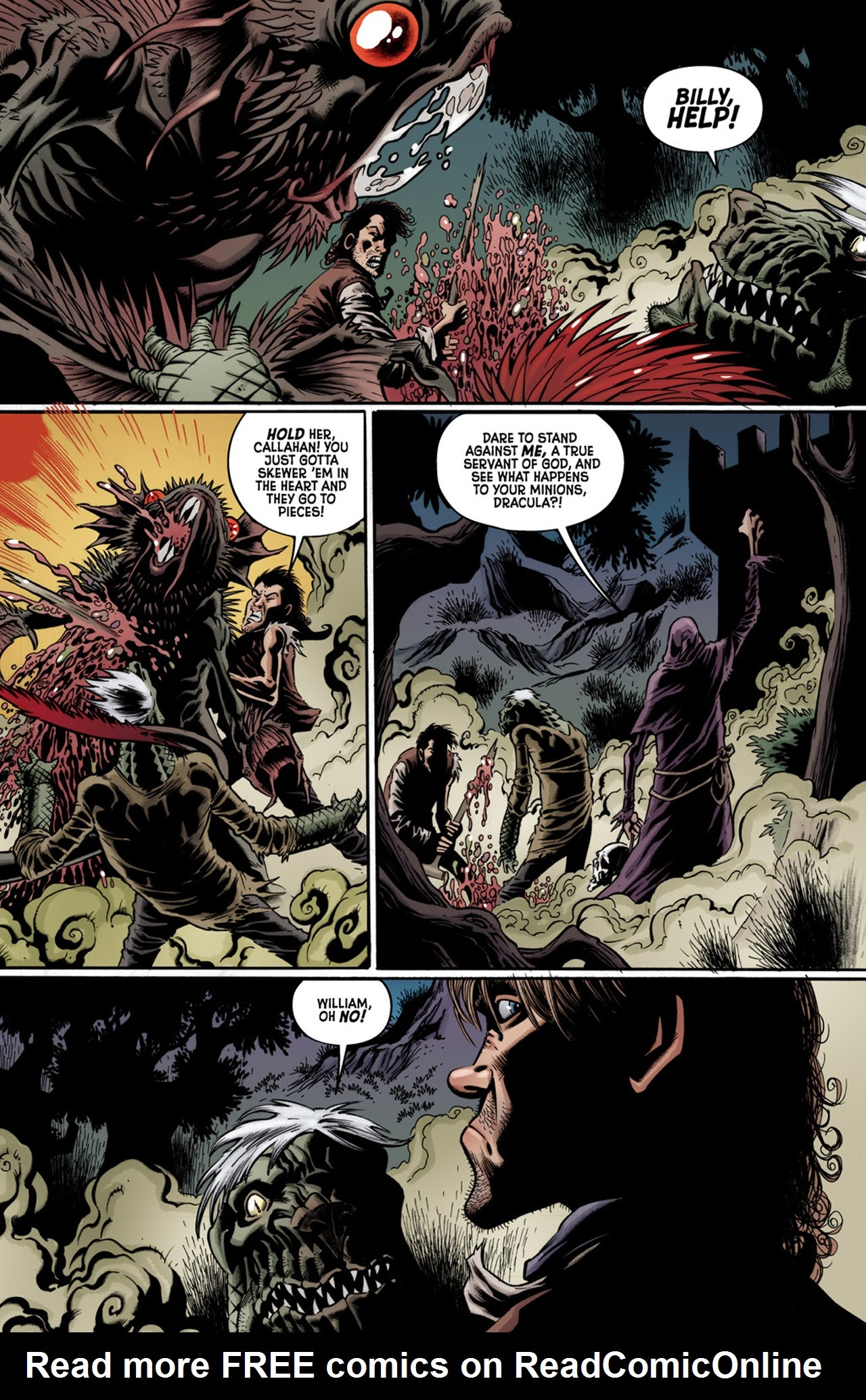 Read online Billy the Kid's Old Timey Oddities and the Orm of Loch Ness comic -  Issue #3 - 20