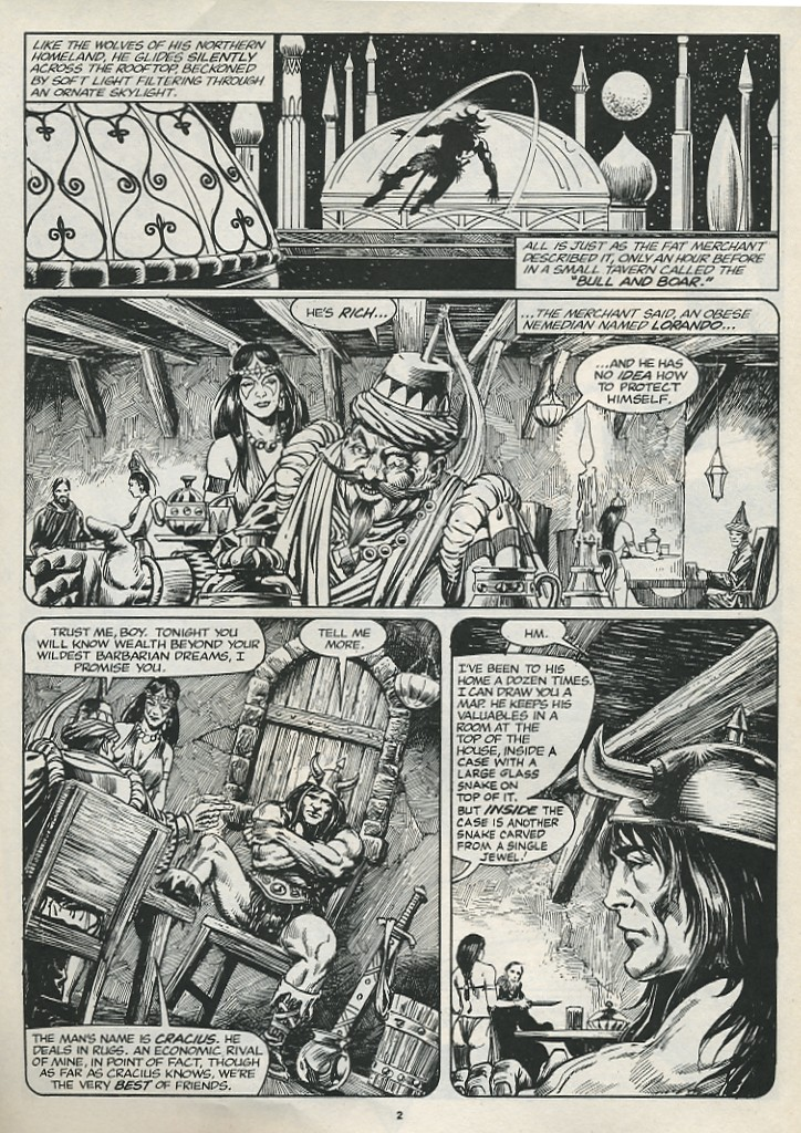 The Savage Sword Of Conan Issue #174 #175 - English 4