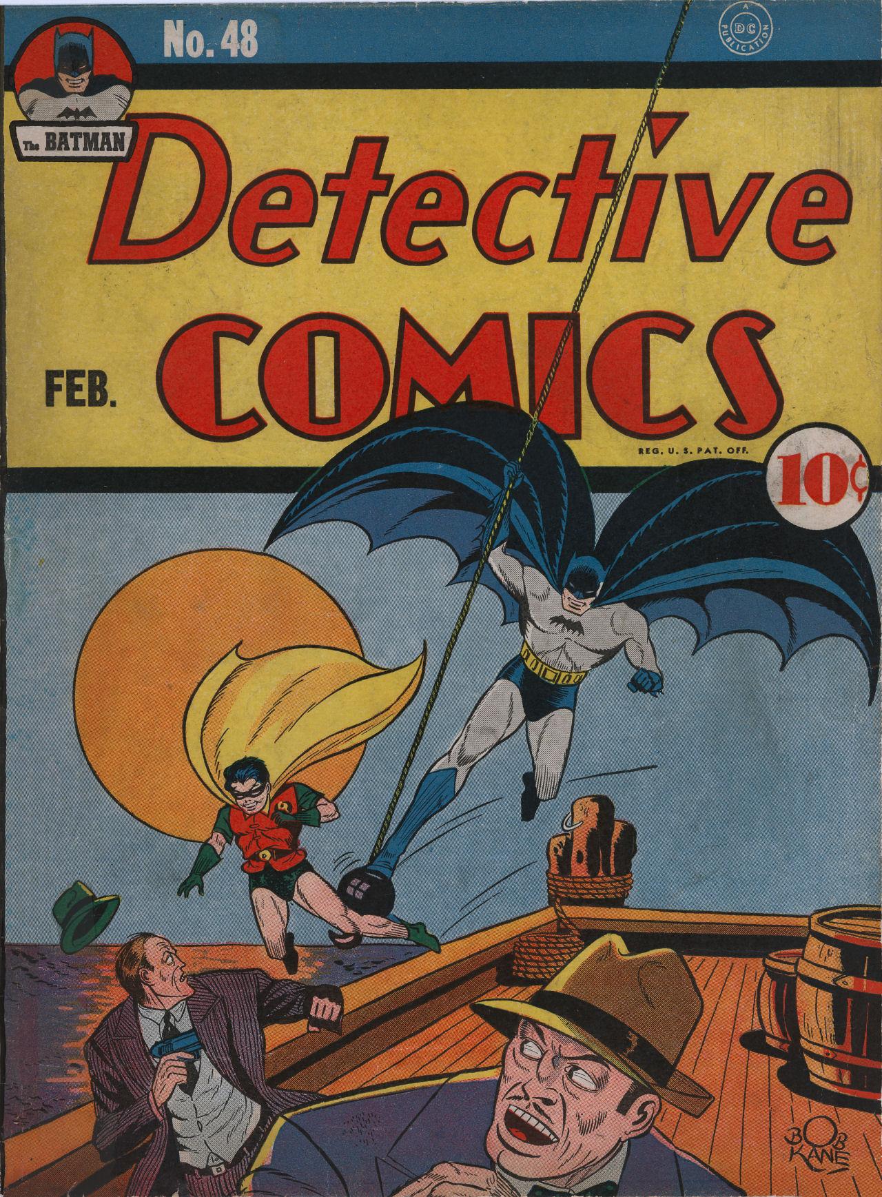 Detective Comics (1937) 48 Page 1
