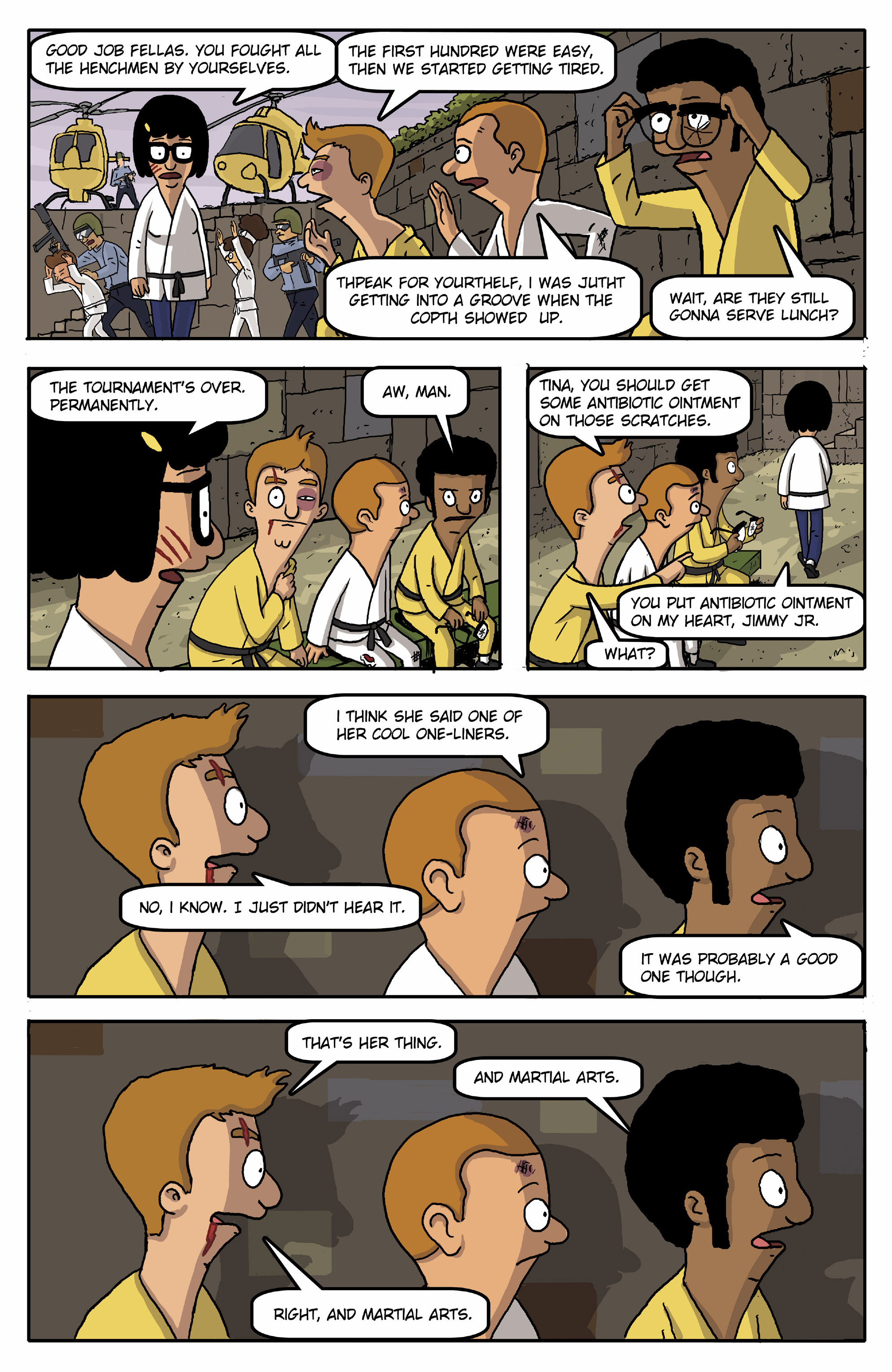 Read online Bob's Burgers (2015) comic -  Issue #13 - 23