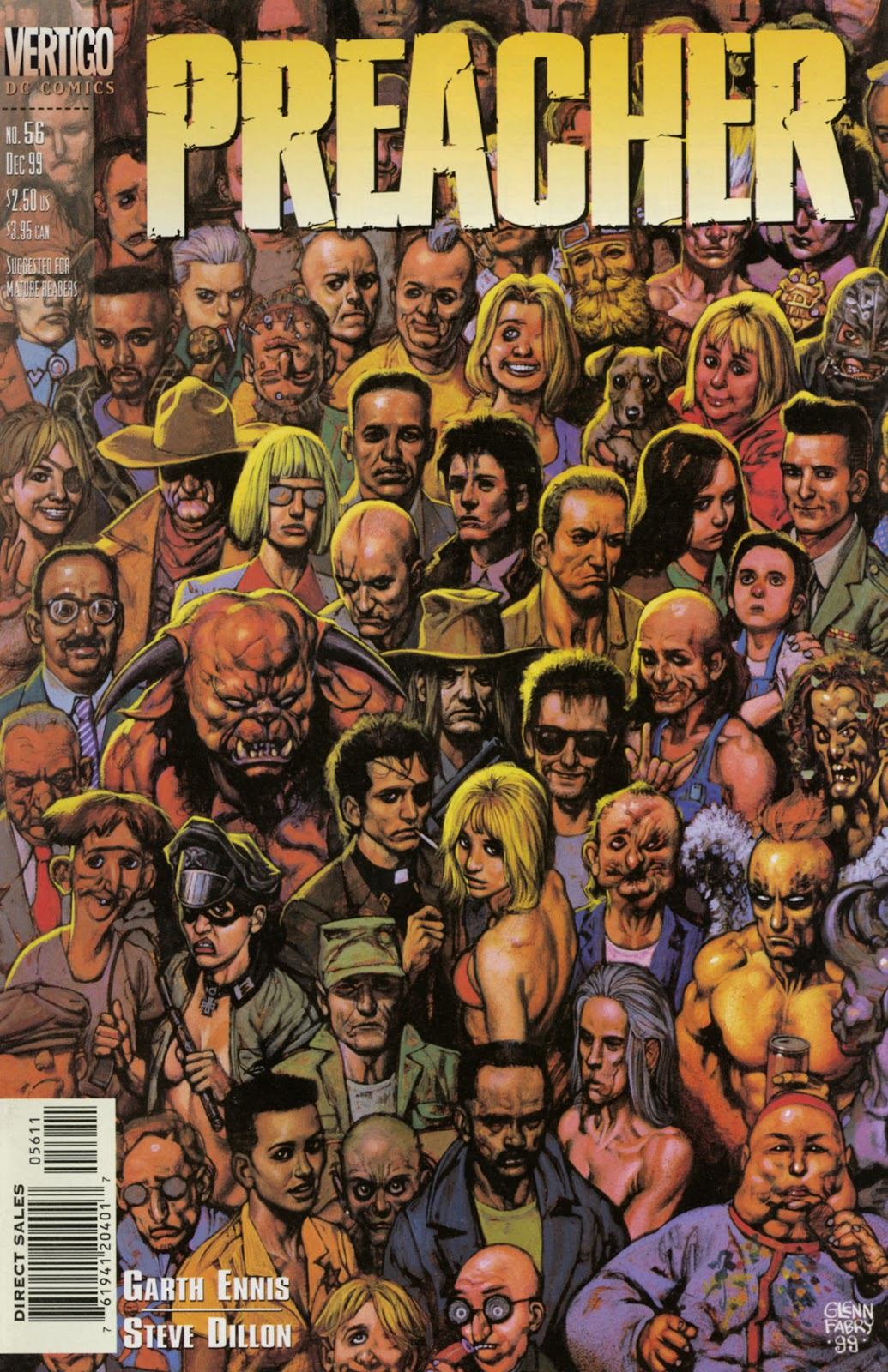 Preacher Issue #56 #65 - English 1