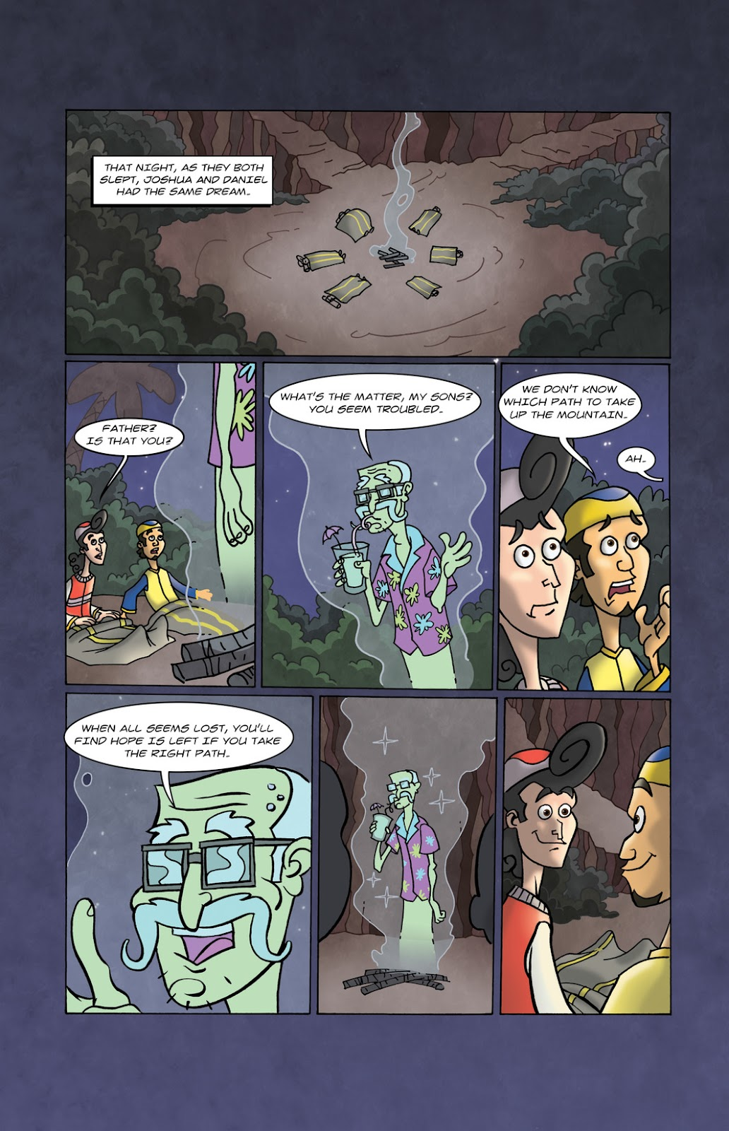 1001 Nights Issue #10 Page 12
