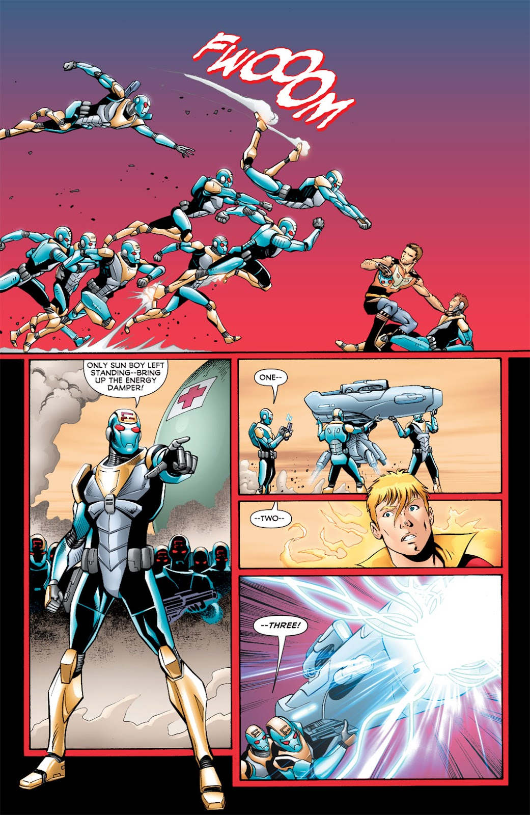 Legion of Super-Heroes (2010) Issue #5 #6 - English 14