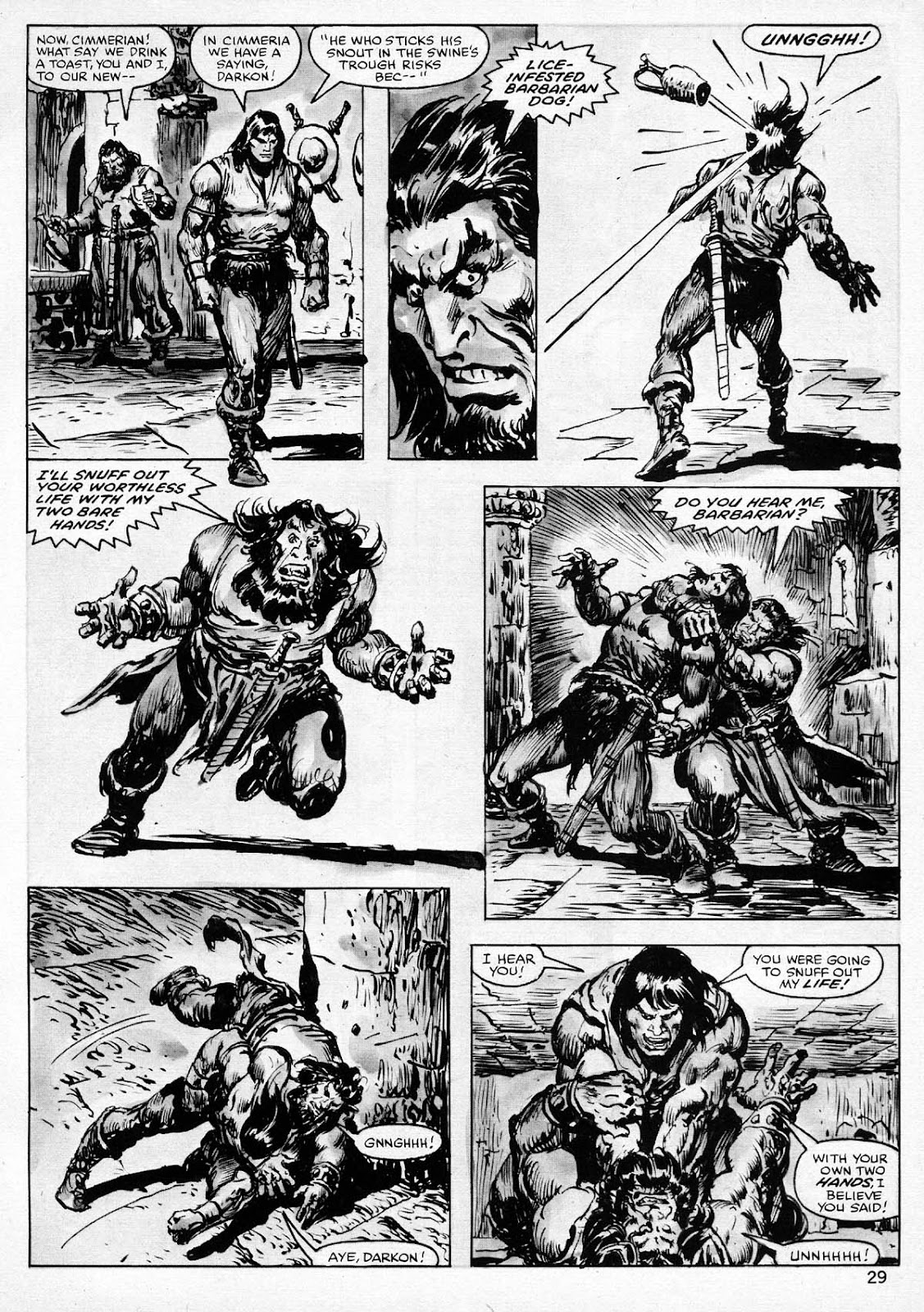 The Savage Sword Of Conan Issue #77 #78 - English 29