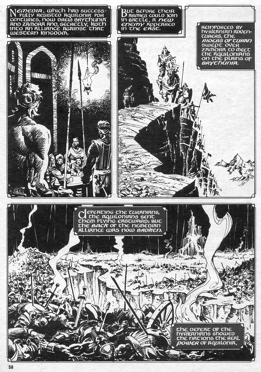 The Savage Sword Of Conan Issue #15 #16 - English 57