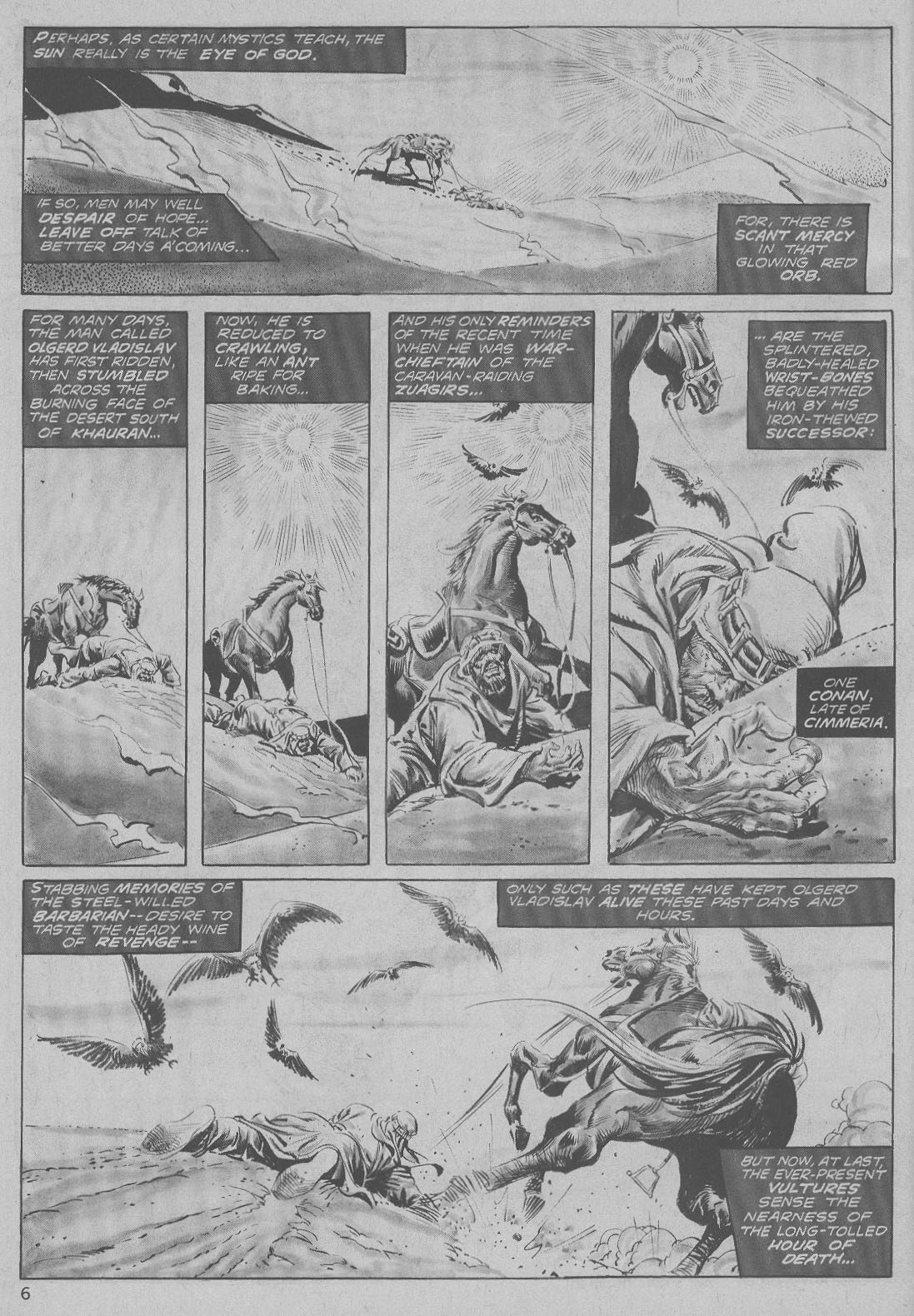 The Savage Sword Of Conan Issue #6 #7 - English 6
