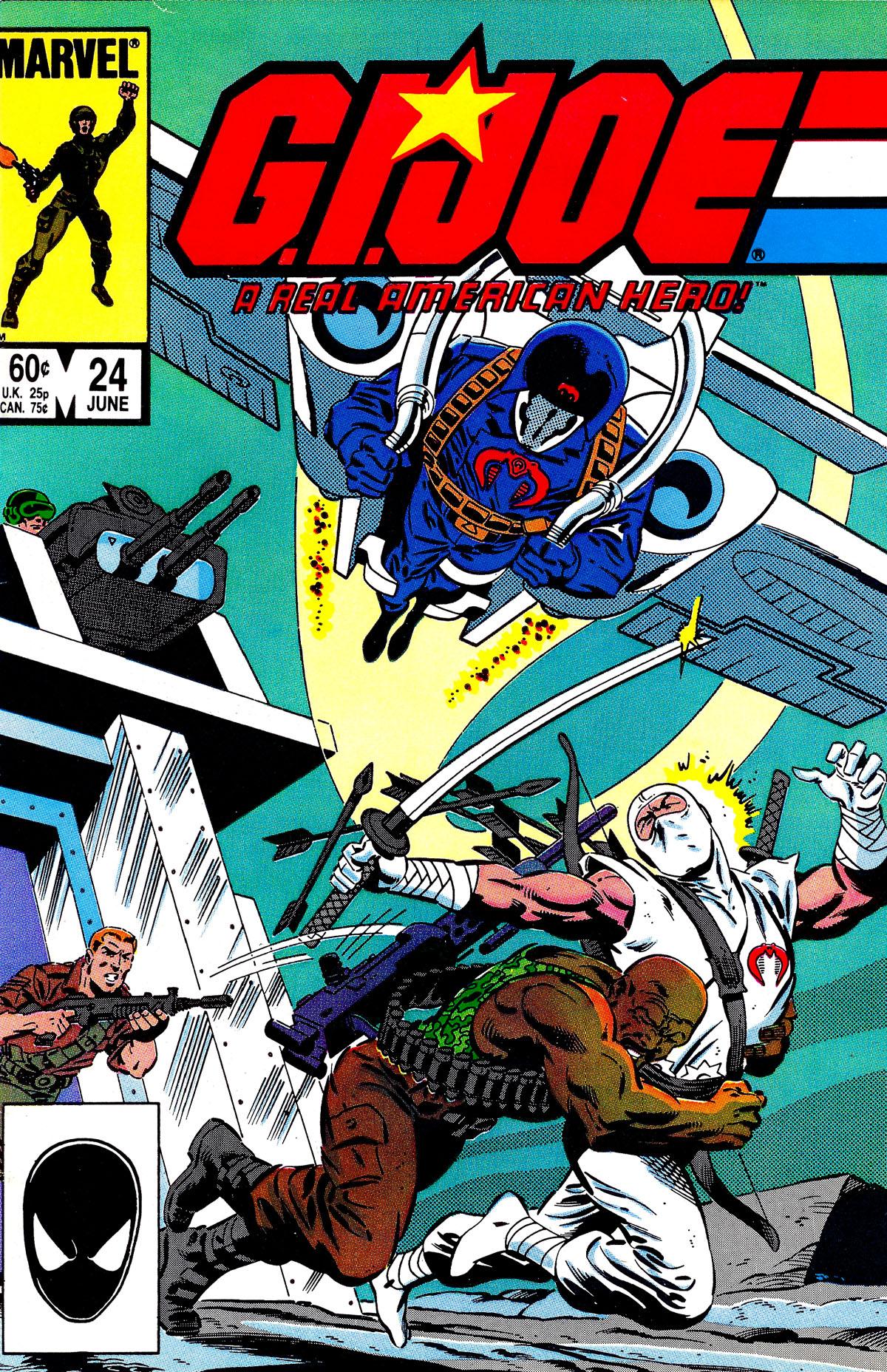 G.I. Joe: A Real American Hero 24 Page 1
