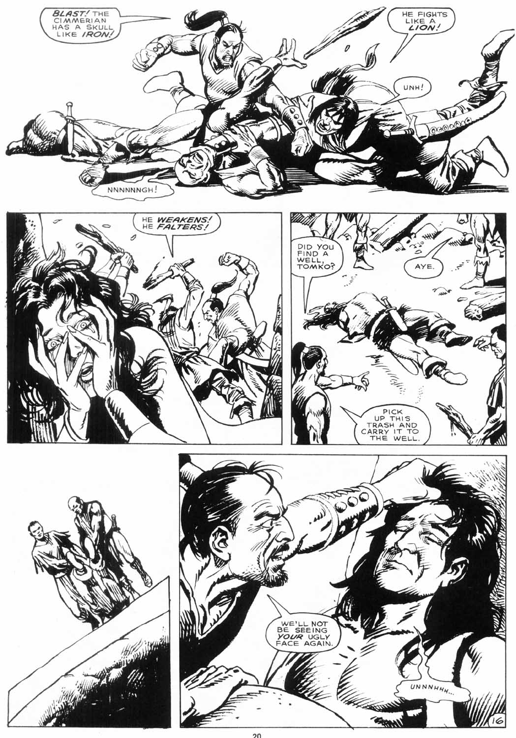 The Savage Sword Of Conan Issue #156 #157 - English 21