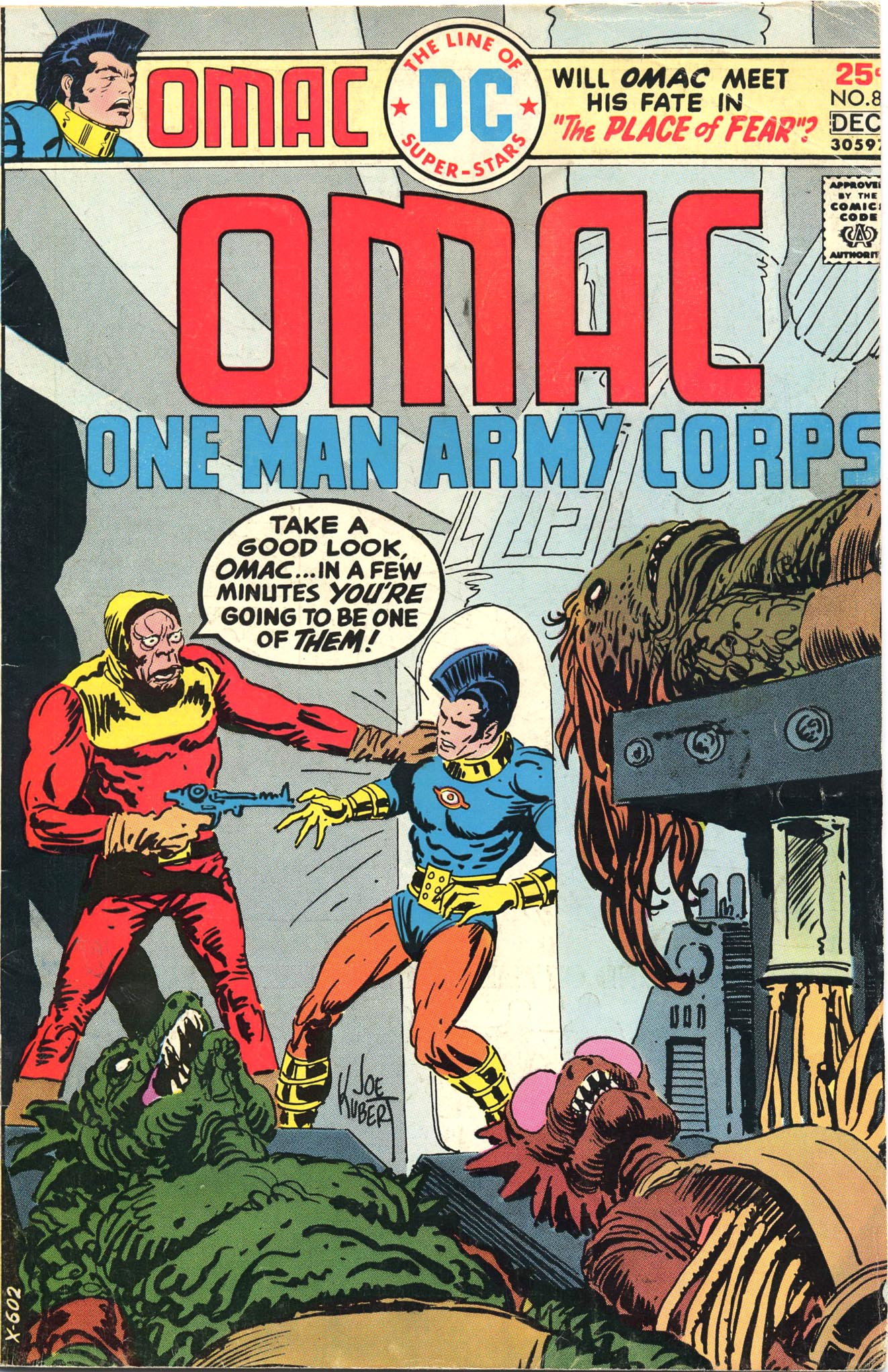 OMAC (1974) 8 Page 1