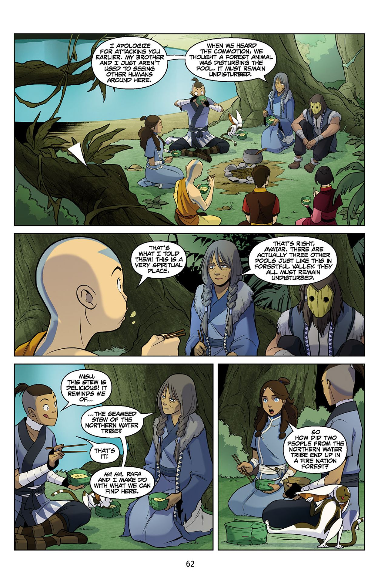 Read online Nickelodeon Avatar: The Last Airbender - The Search comic -  Issue # Part 2 - 63