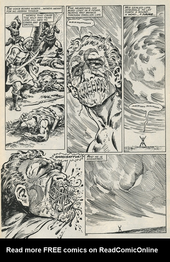 The Savage Sword Of Conan Issue #178 #179 - English 51