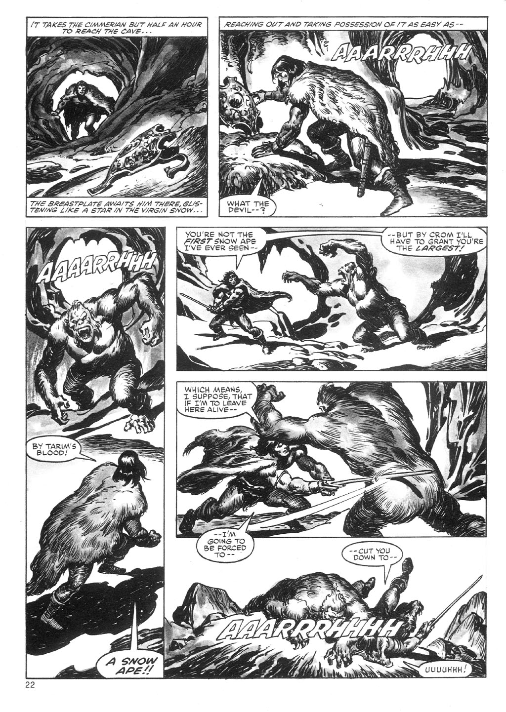 The Savage Sword Of Conan Issue #87 #88 - English 22