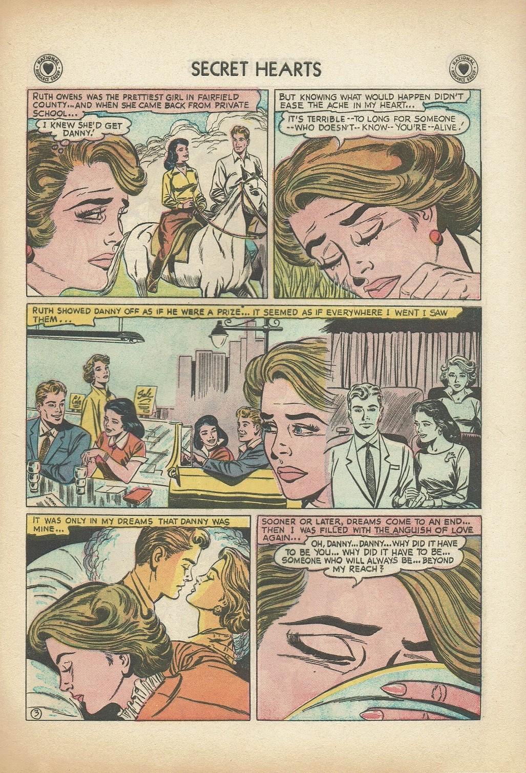 Read online Secret Hearts comic -  Issue #47 - 29