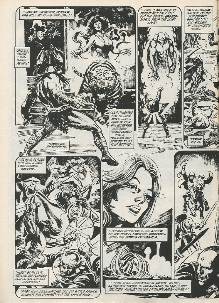 The Savage Sword Of Conan Issue #189 #190 - English 22