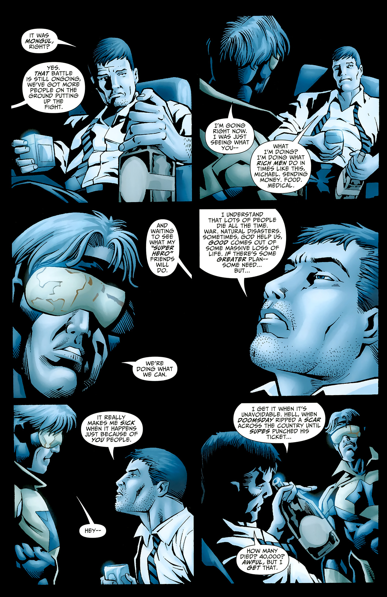Read online Justice League: Generation Lost comic -  Issue #20 - 15