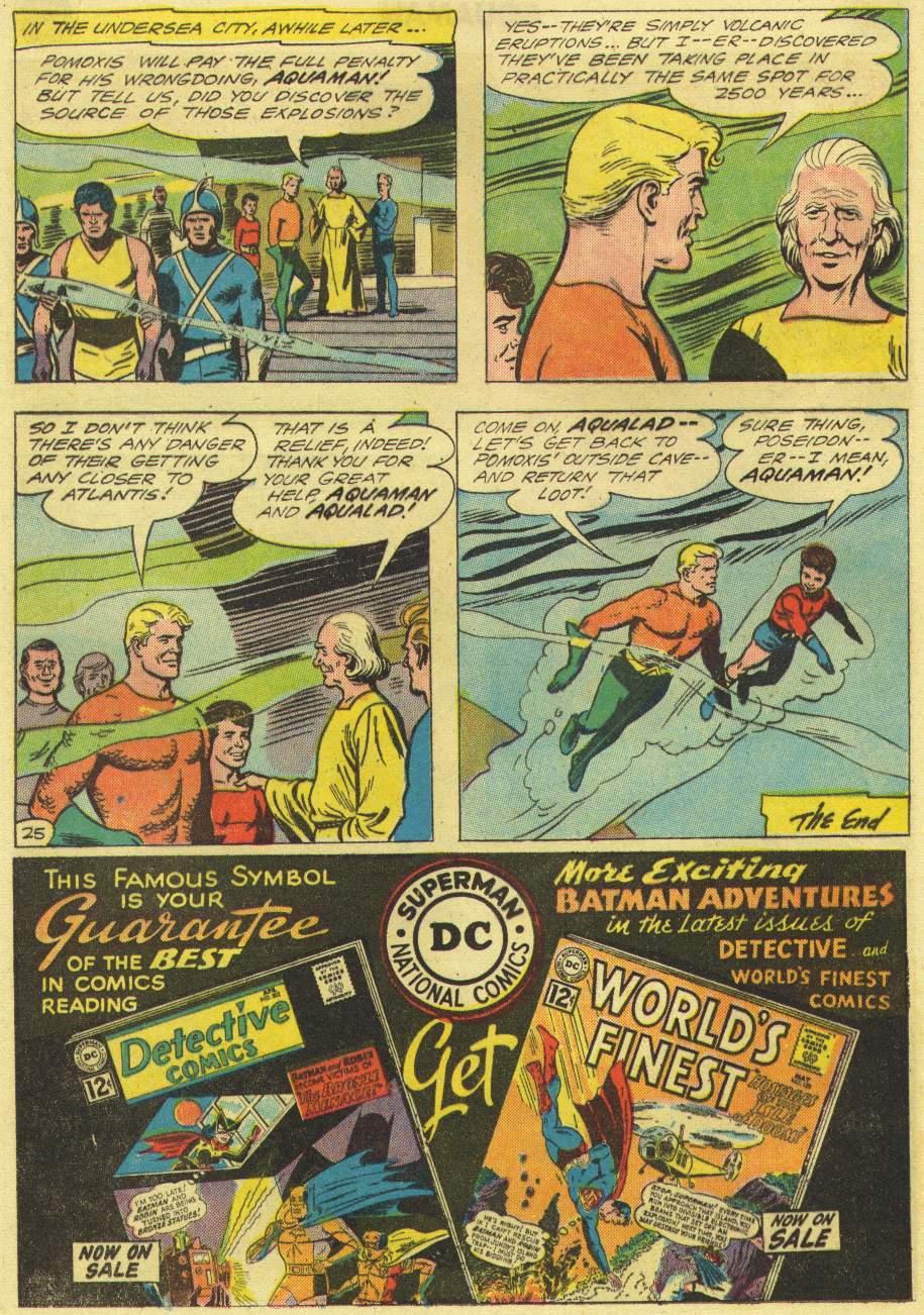 Aquaman (1962) Issue #3 #3 - English 32