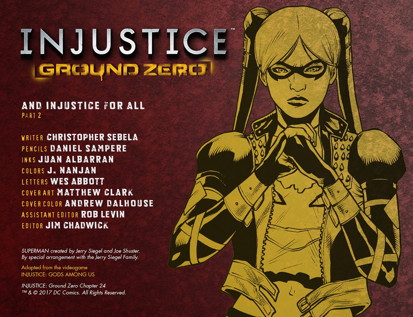 Injustice: Ground Zero Issue #24 #24 - English 3