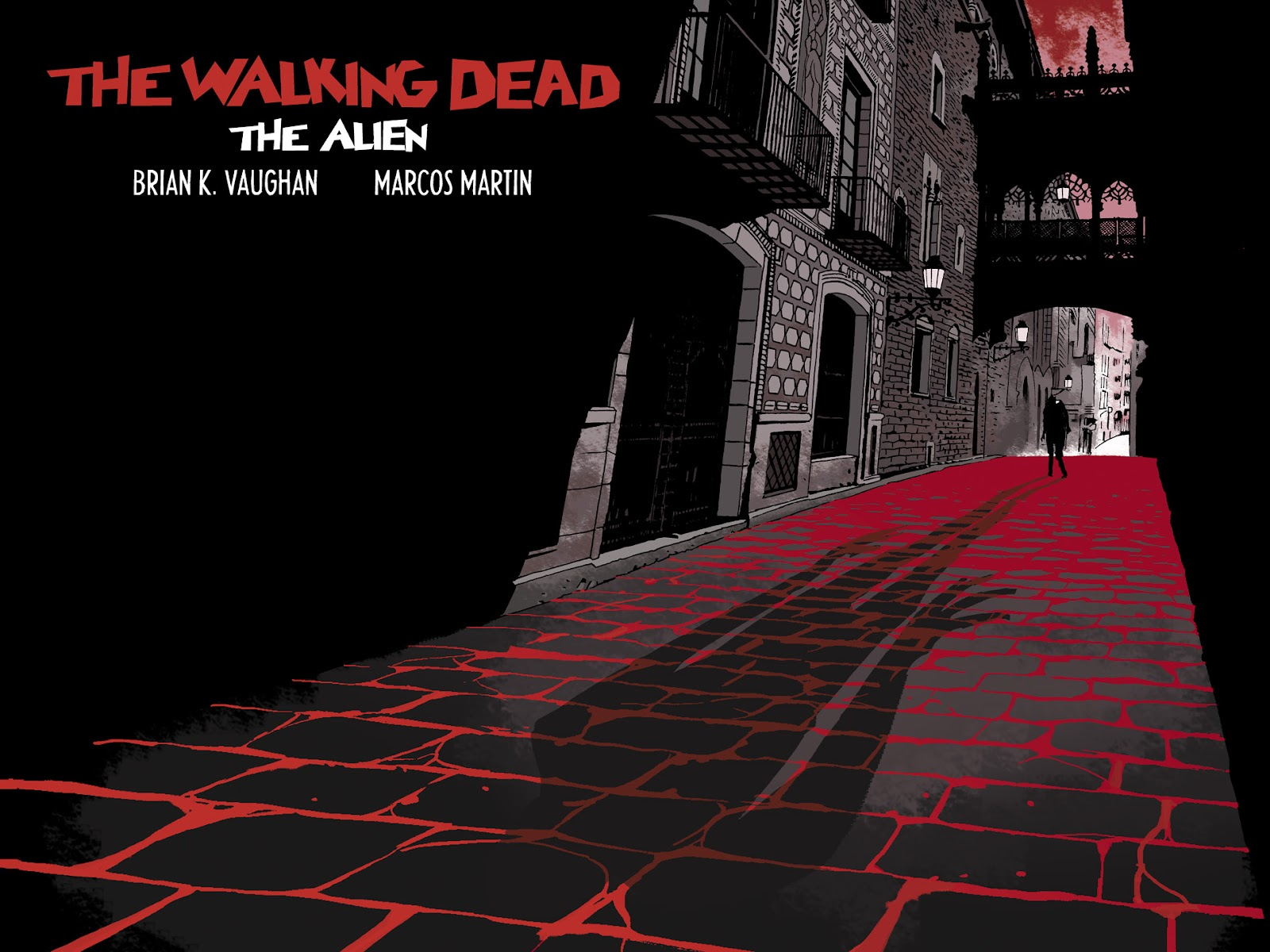 The Walking Dead: The Alien issue Full - Page 1