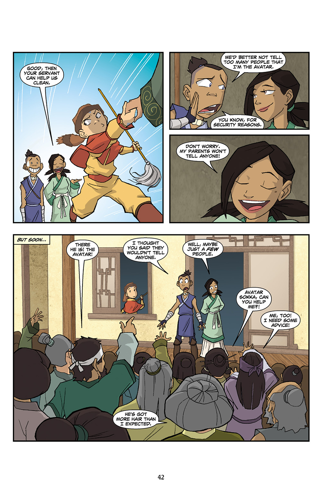 Nickelodeon Avatar: The Last Airbender - The Lost Adventures chap full pic 43