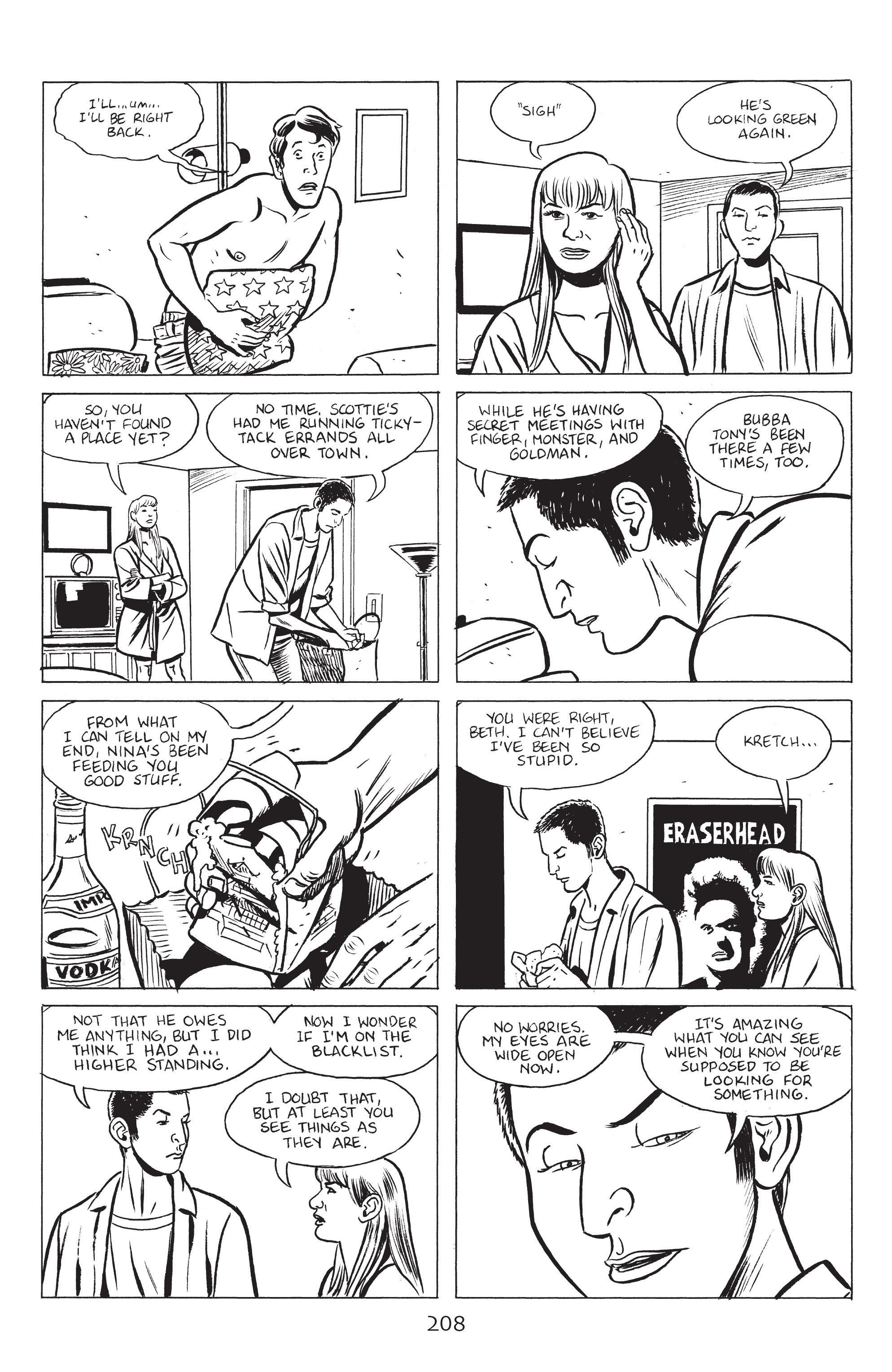 Read online Stray Bullets: Sunshine & Roses comic -  Issue #8 - 14