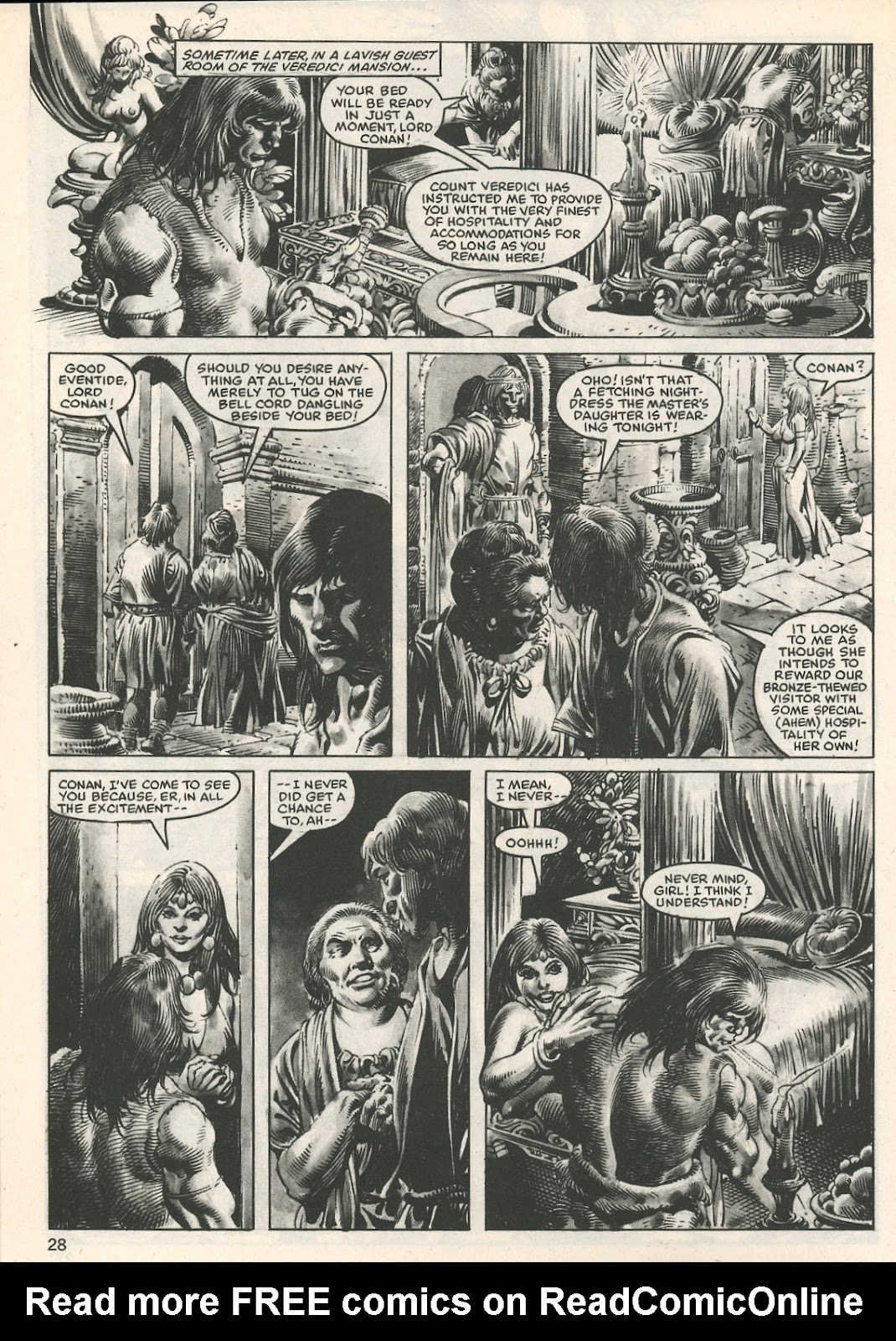 The Savage Sword Of Conan Issue #107 #108 - English 28