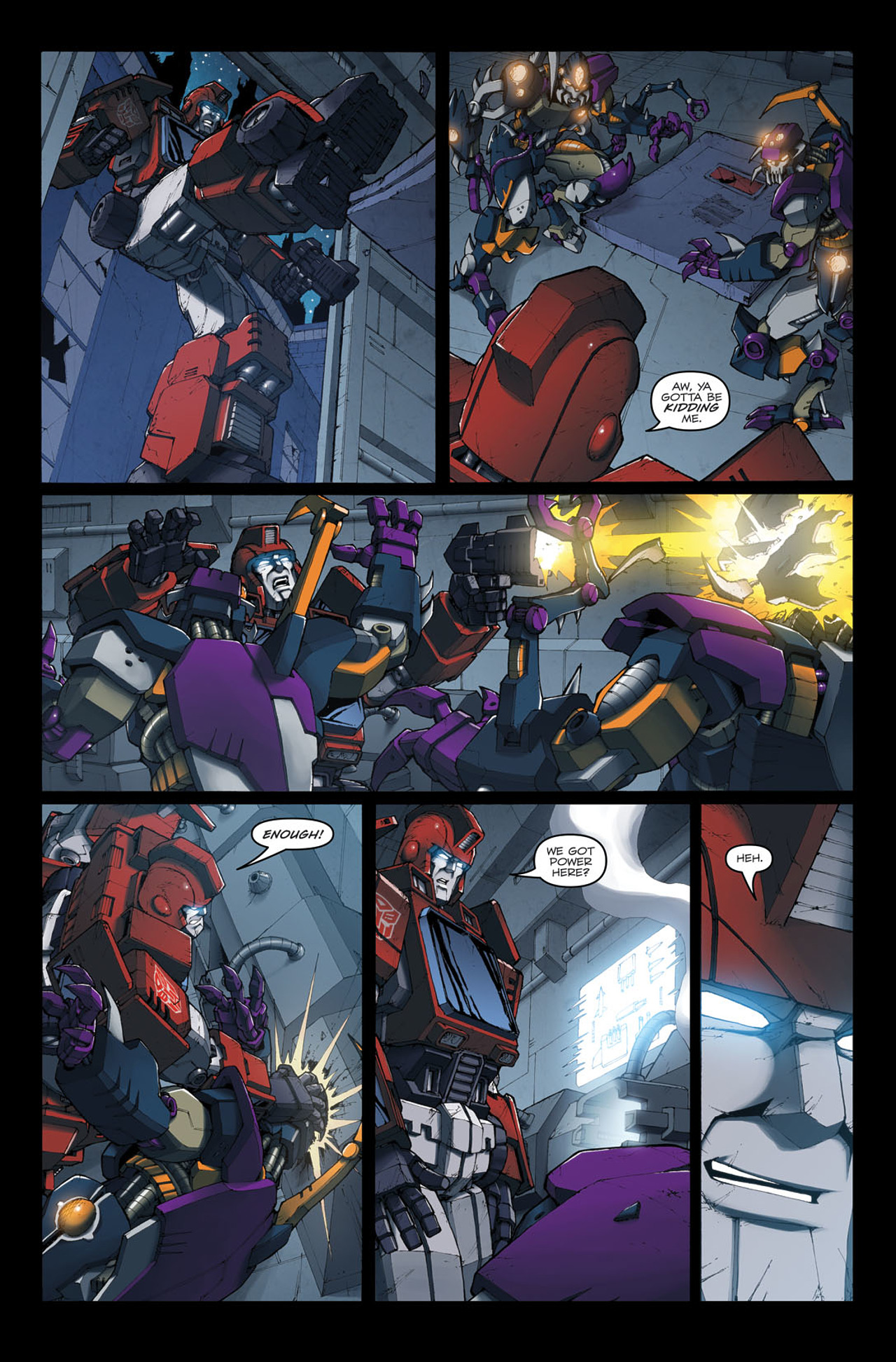 Read online The Transformers: Ironhide comic -  Issue #4 - 9