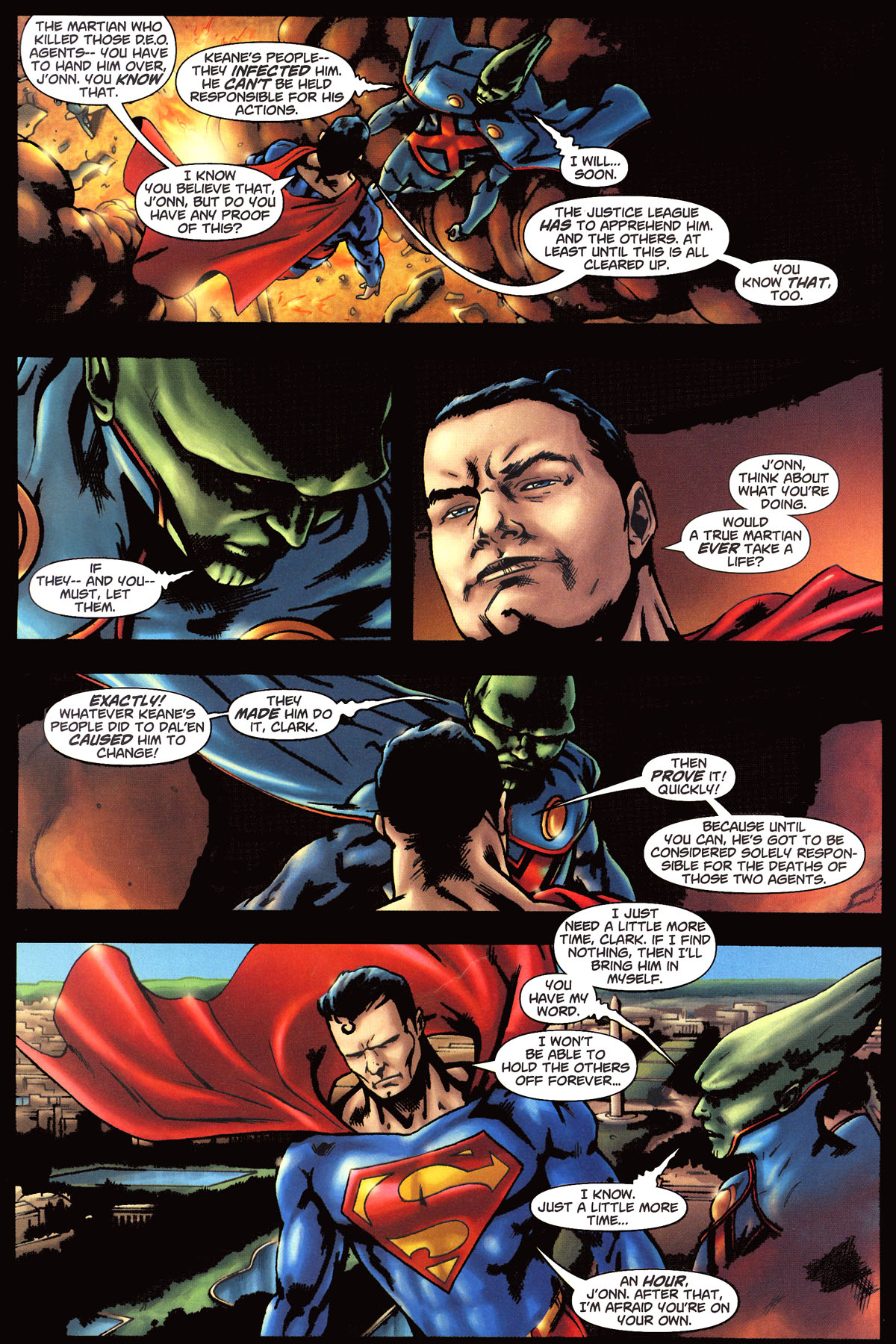 Read online Martian Manhunter (2006) comic -  Issue #6 - 19