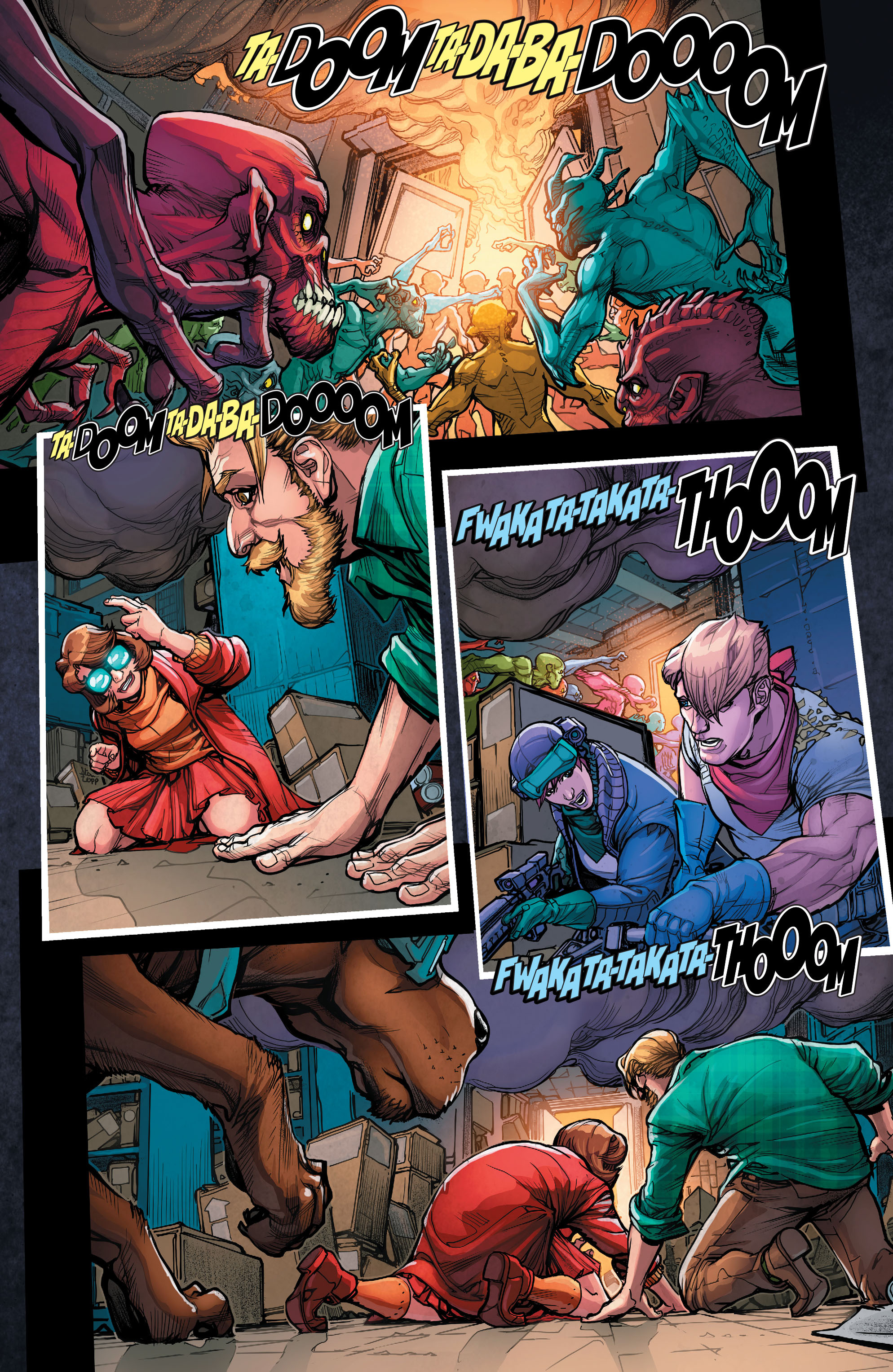 Read online Scooby Apocalypse comic -  Issue #7 - 17