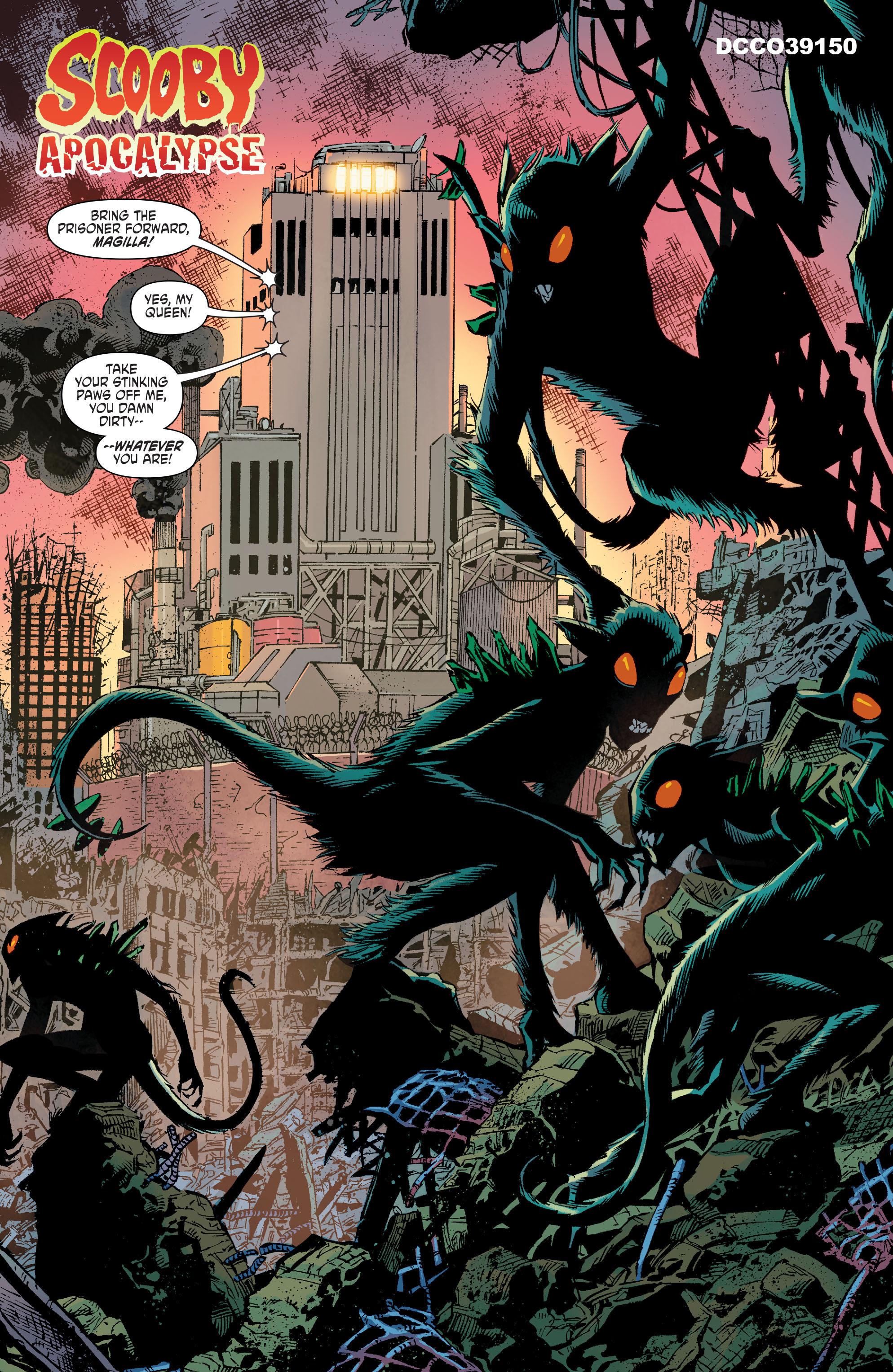 Read online Scooby Apocalypse comic -  Issue #10 - 4