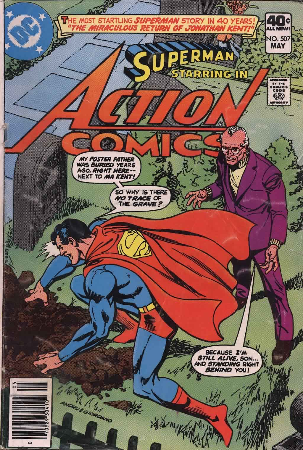 Action Comics (1938) 507 Page 1