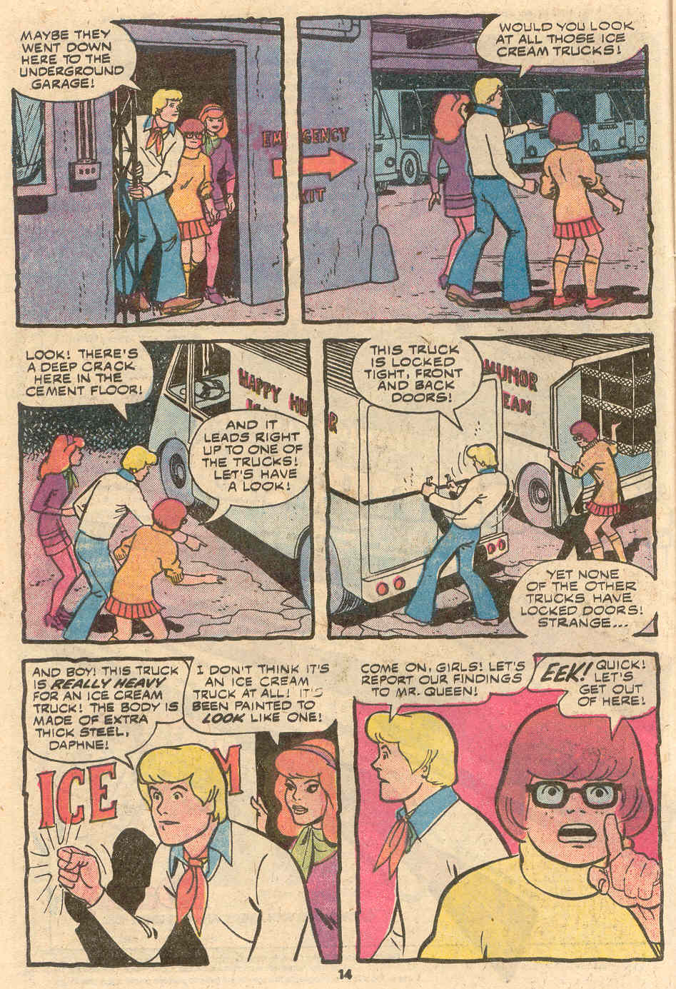 Read online Scooby-Doo (1977) comic -  Issue #1 - 9