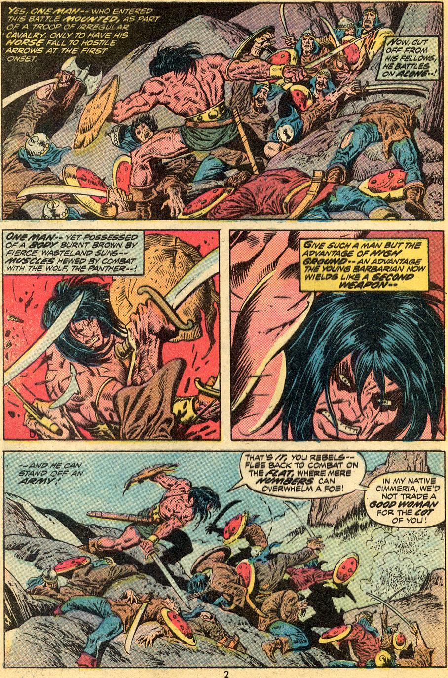 Conan the Barbarian (1970) Issue #30 #42 - English 3