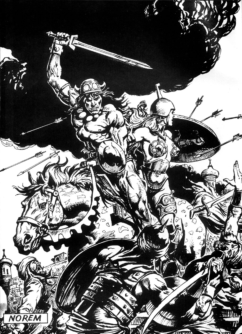 The Savage Sword Of Conan Issue #94 #95 - English 2