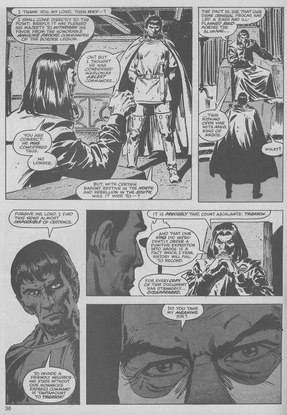 The Savage Sword Of Conan Issue #50 #51 - English 36